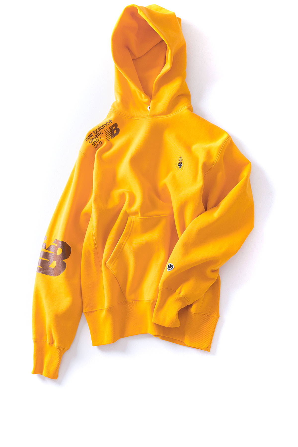 NB X Heritage Floss : Locker Room Hoodie (Yellow)