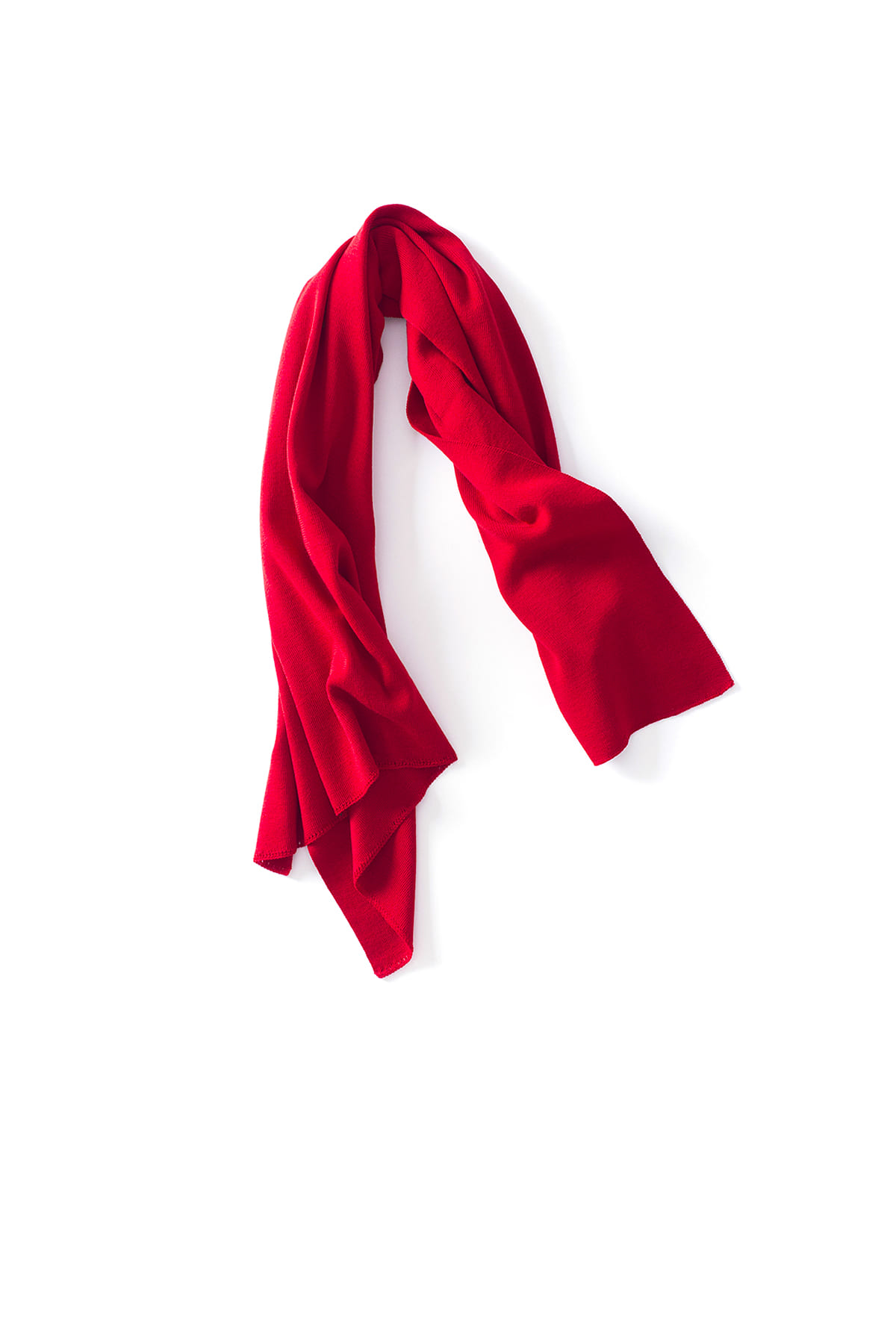 CAMO : Knit Scarf (Red)