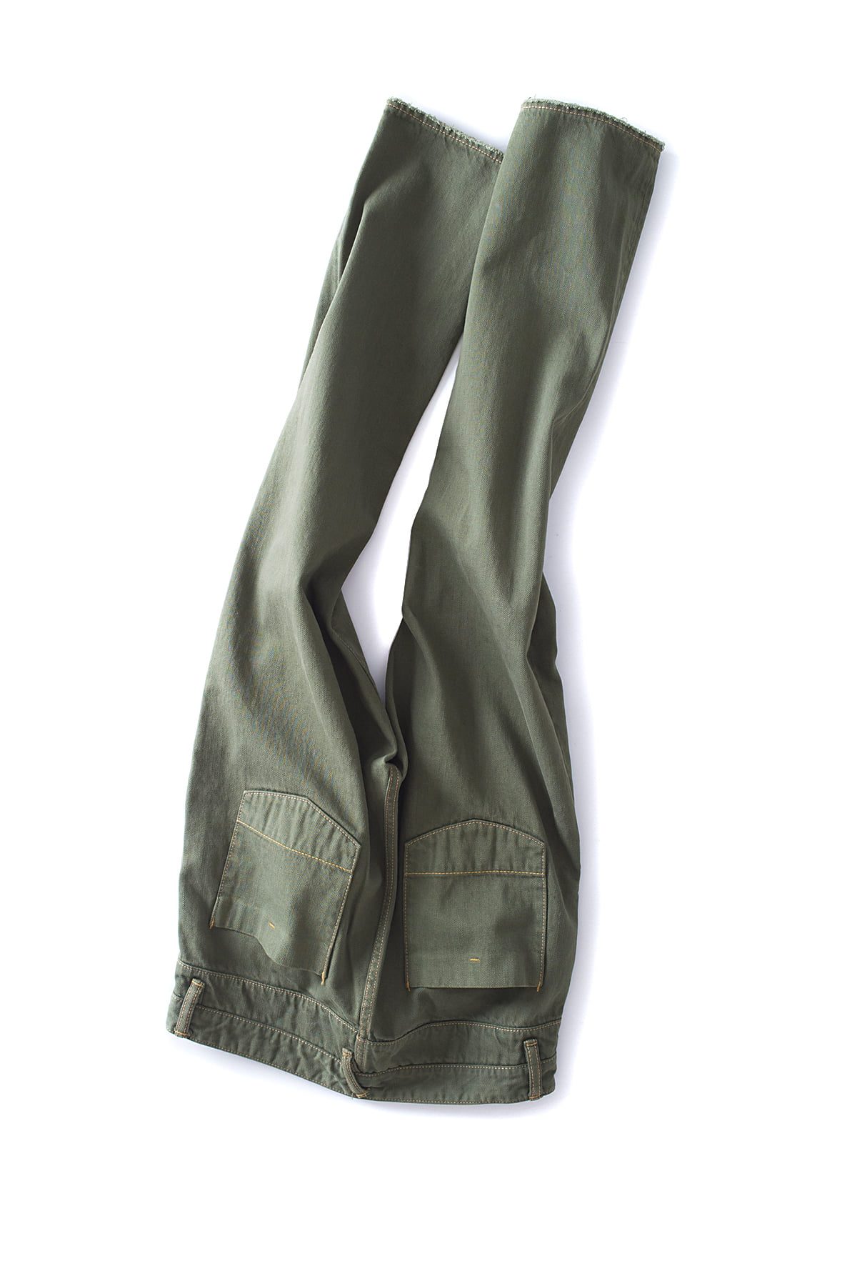 bukht : Basic 5P Slim Jeans (Moss Green)