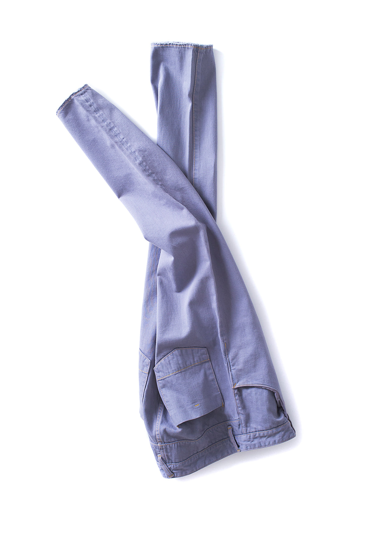 bukht :Basic 5P Slim Jeans (Light Gray)