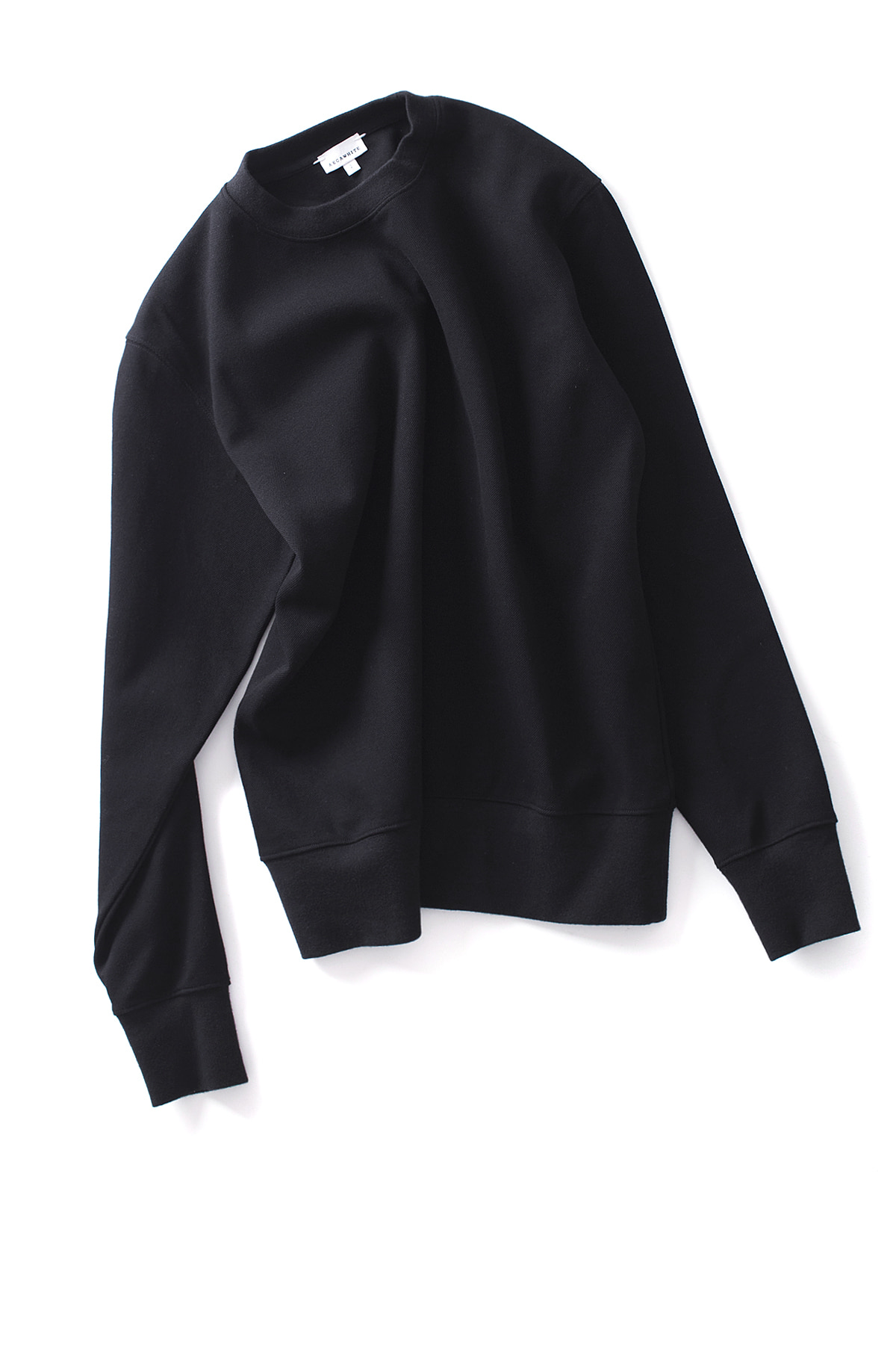 AECA WHITE : Sweatshirt (Black)
