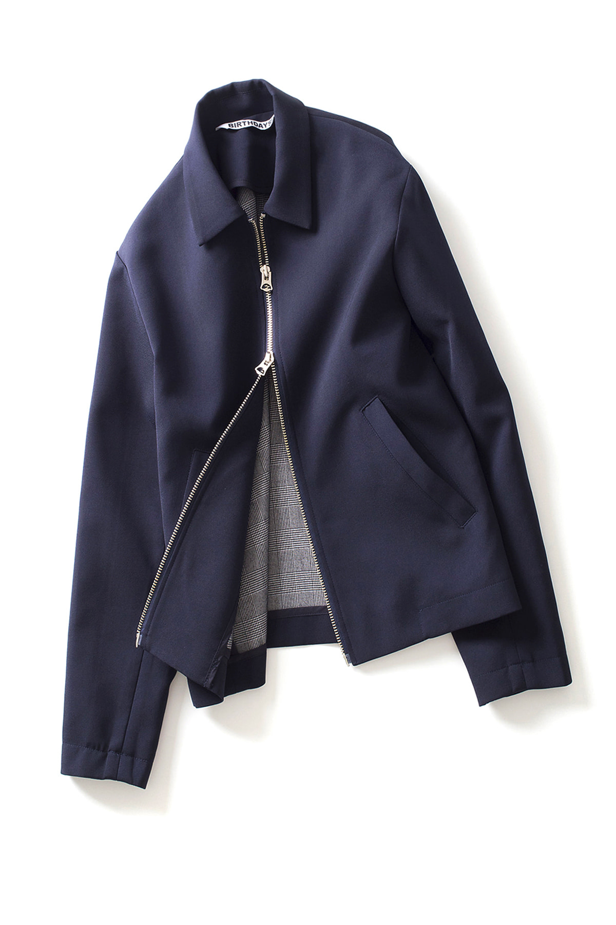 BIRTHDAYSUIT : 2-Way Blouson (Navy)