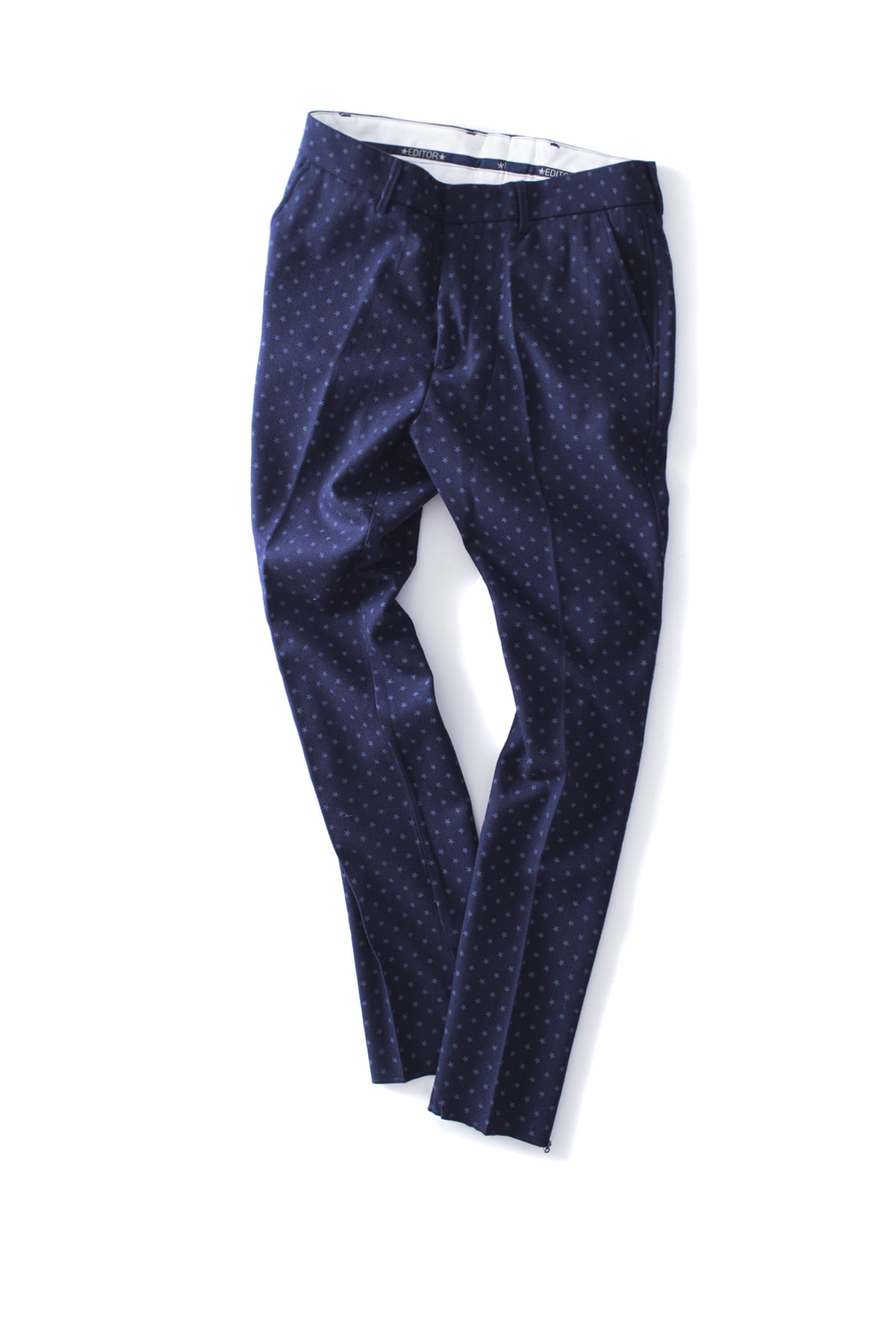 THE EDITOR : Star Trouser (Navy)