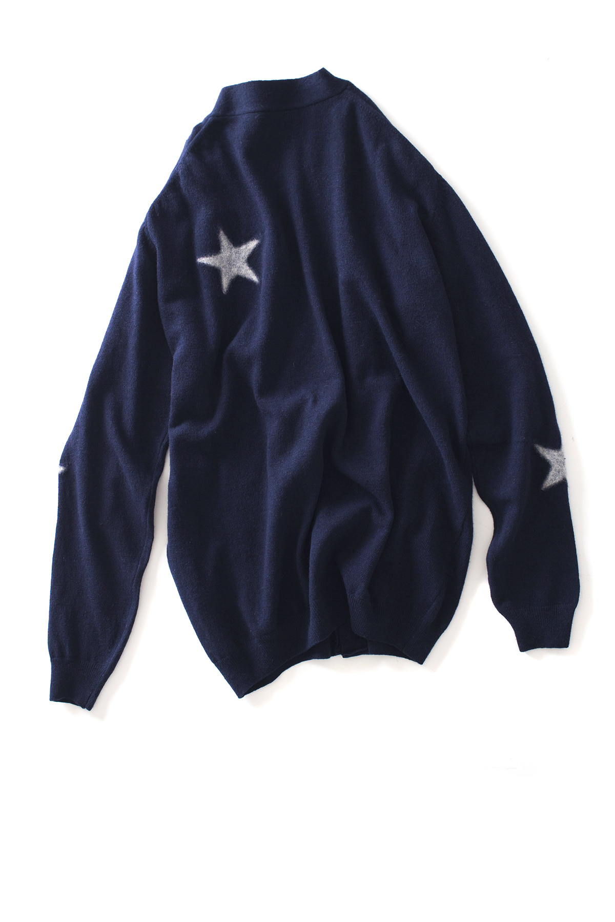 THE EDITOR : Star Knit Cardigan (Navy)