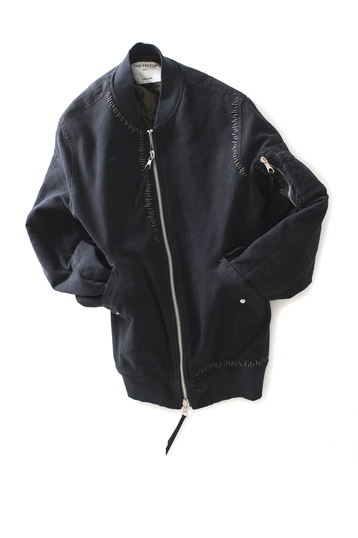 THE EDITOR : Man Sport Blouson (Black)