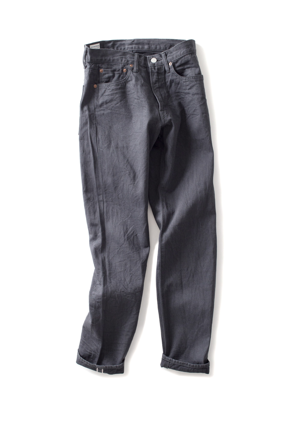 A vontade : 5 Pocket Jeans - Narrow Fit (Fade Black)