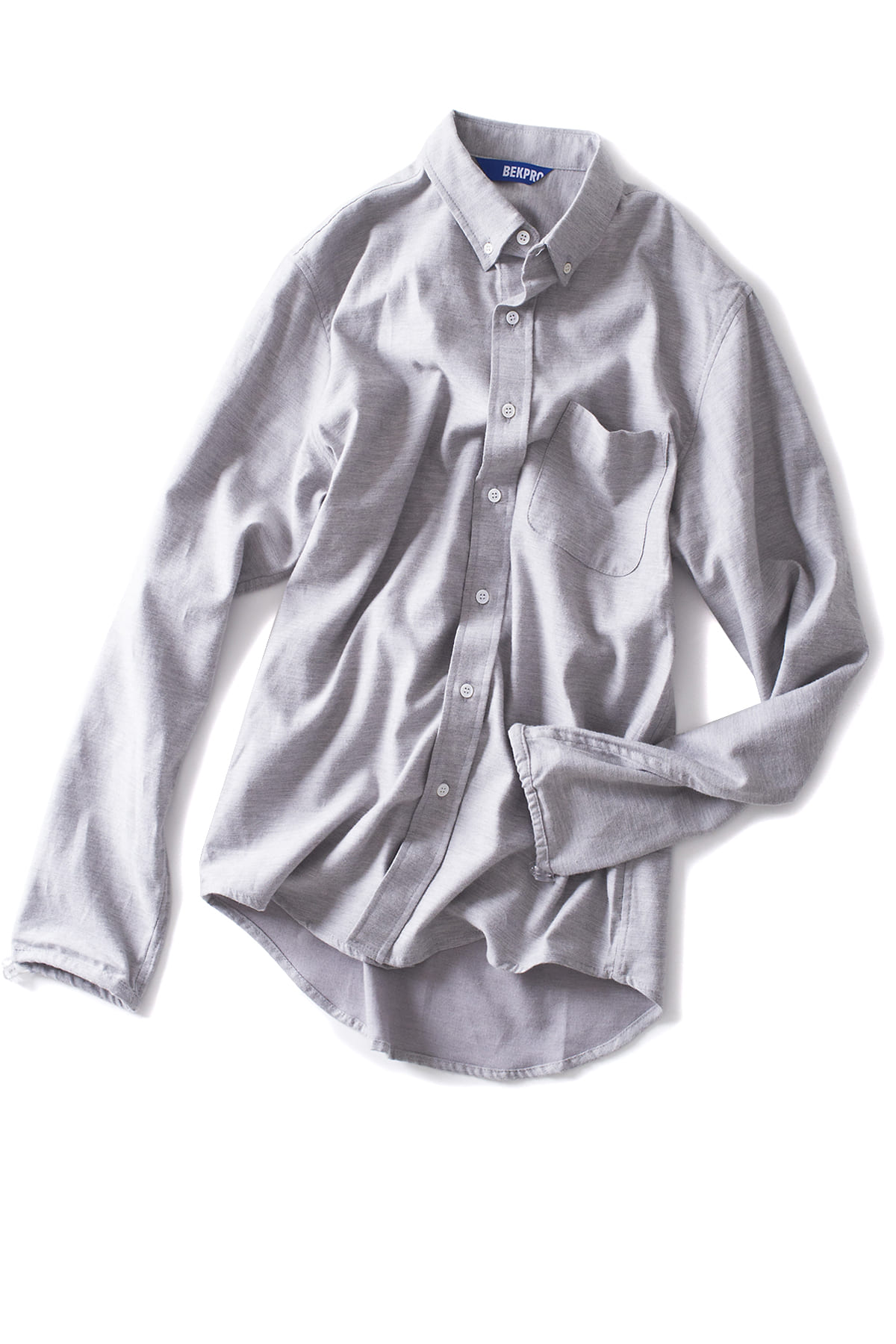 BEKPRO : L/S SHIRT (Grey)