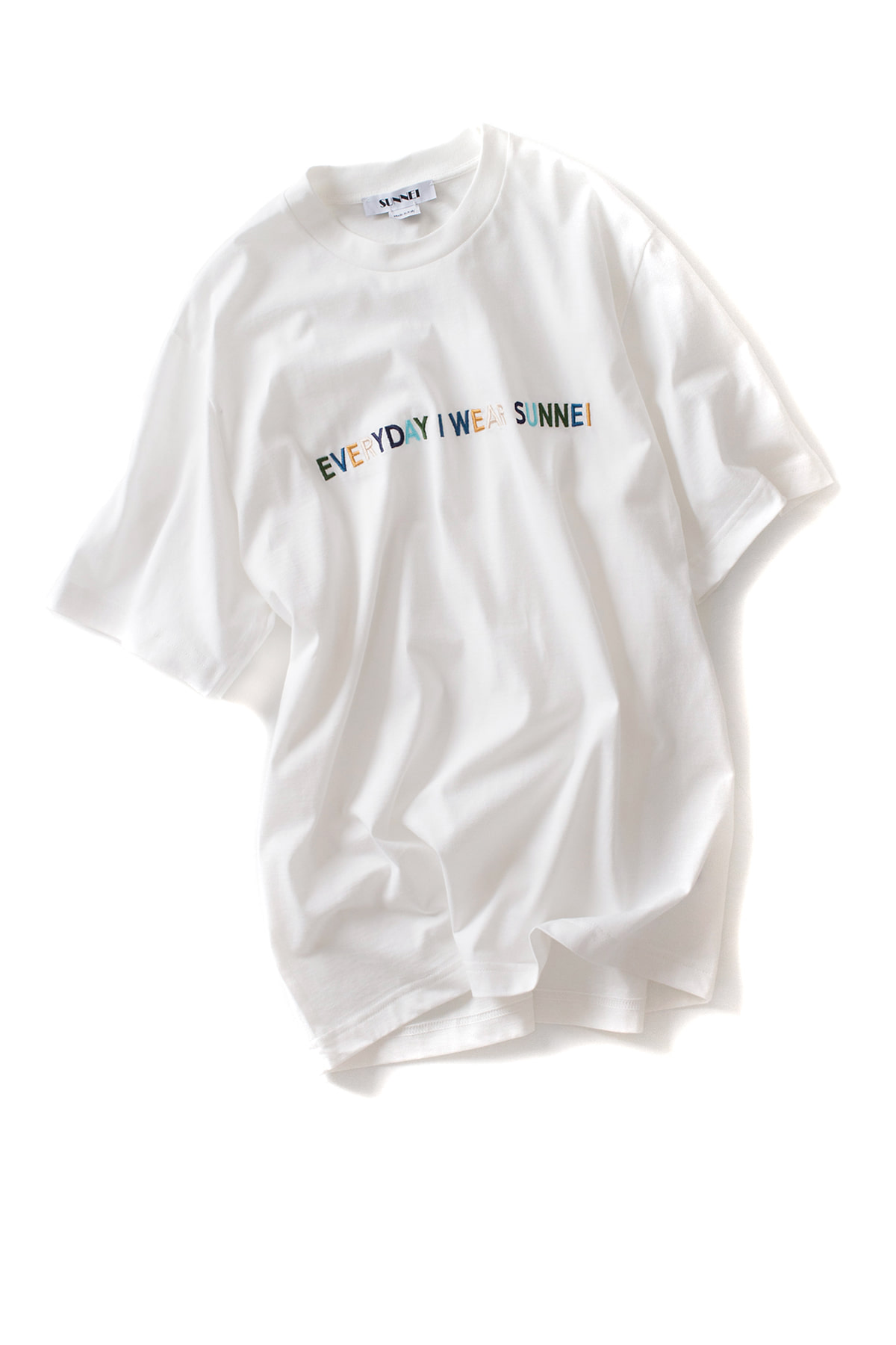 SUNNEI : Lettering T-Shirt Jersey (Everyday I Wear SUNNEI)