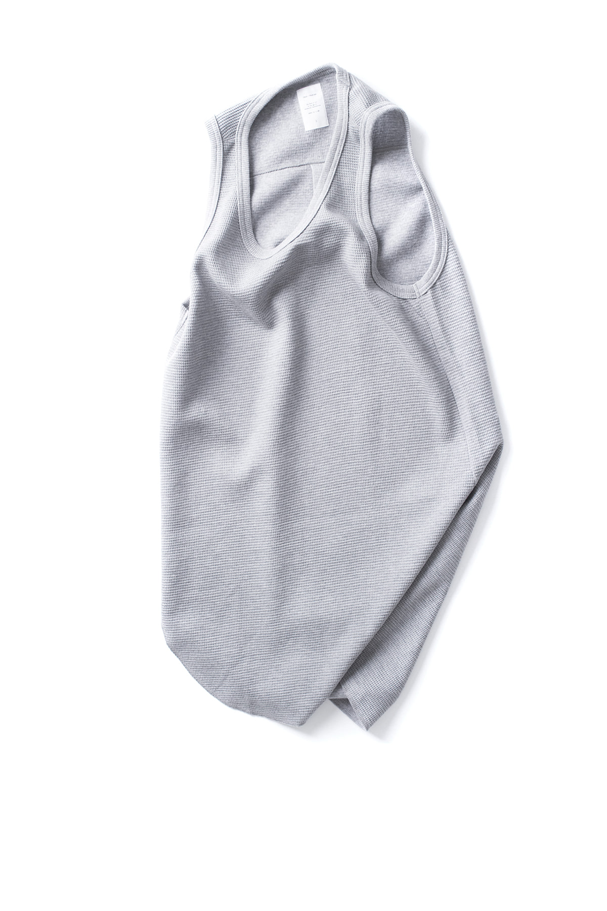 Name : Waffle Thermal Tank Top (Grey)