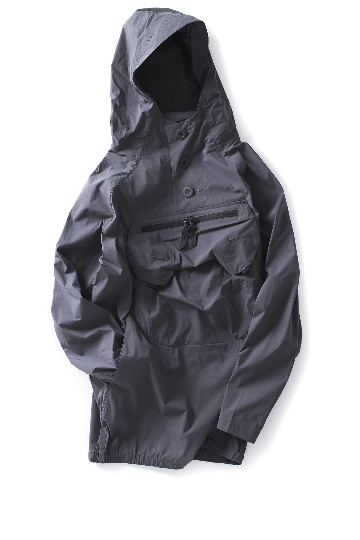 alk phenix : Zak Anorak / Karu Stretch (Charcoal Grey)