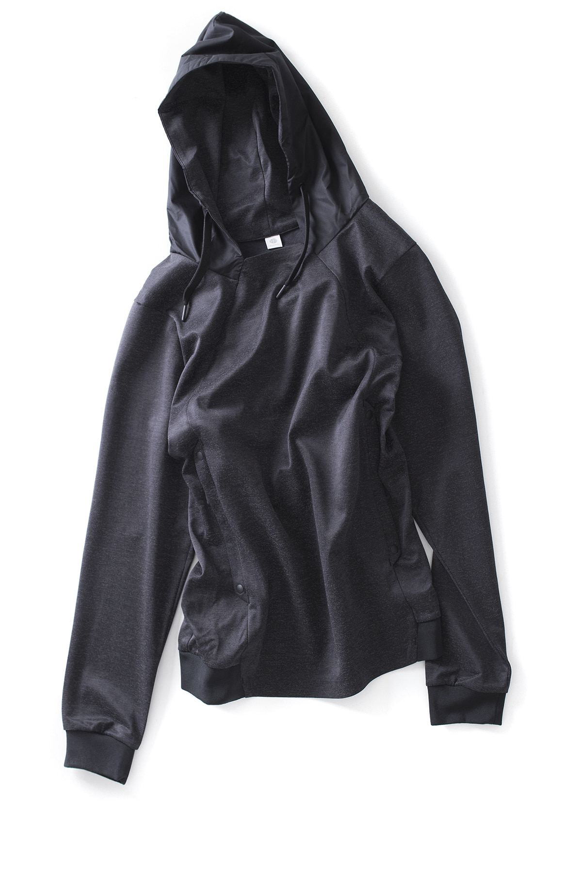 alk phenix : Tab Parka / Reflector Heather (Black)