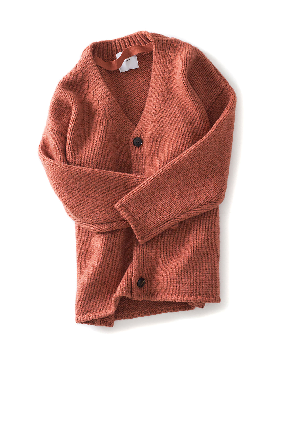 Ooparts : Dropped-Shoulder Cardigan (Indi Pink)