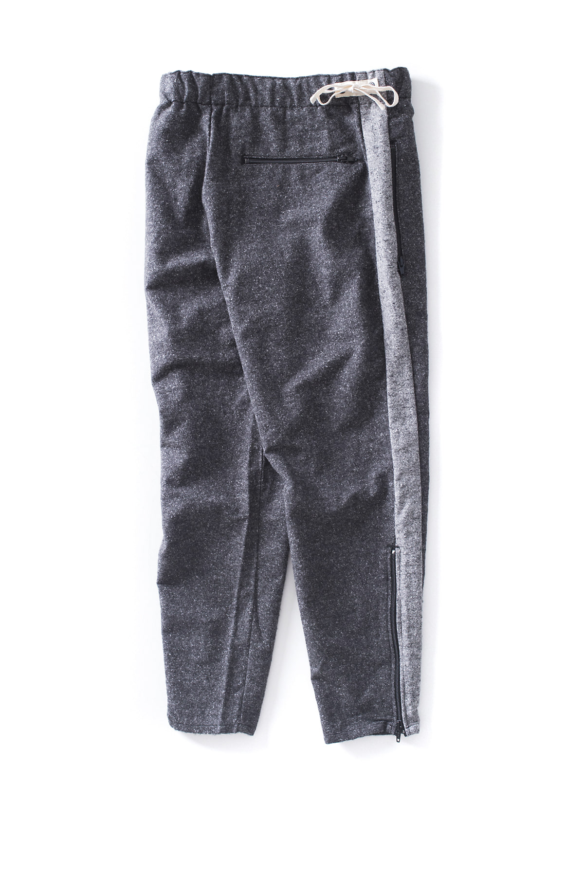 Kenneth Field : Woven Trouser (Charcoal)