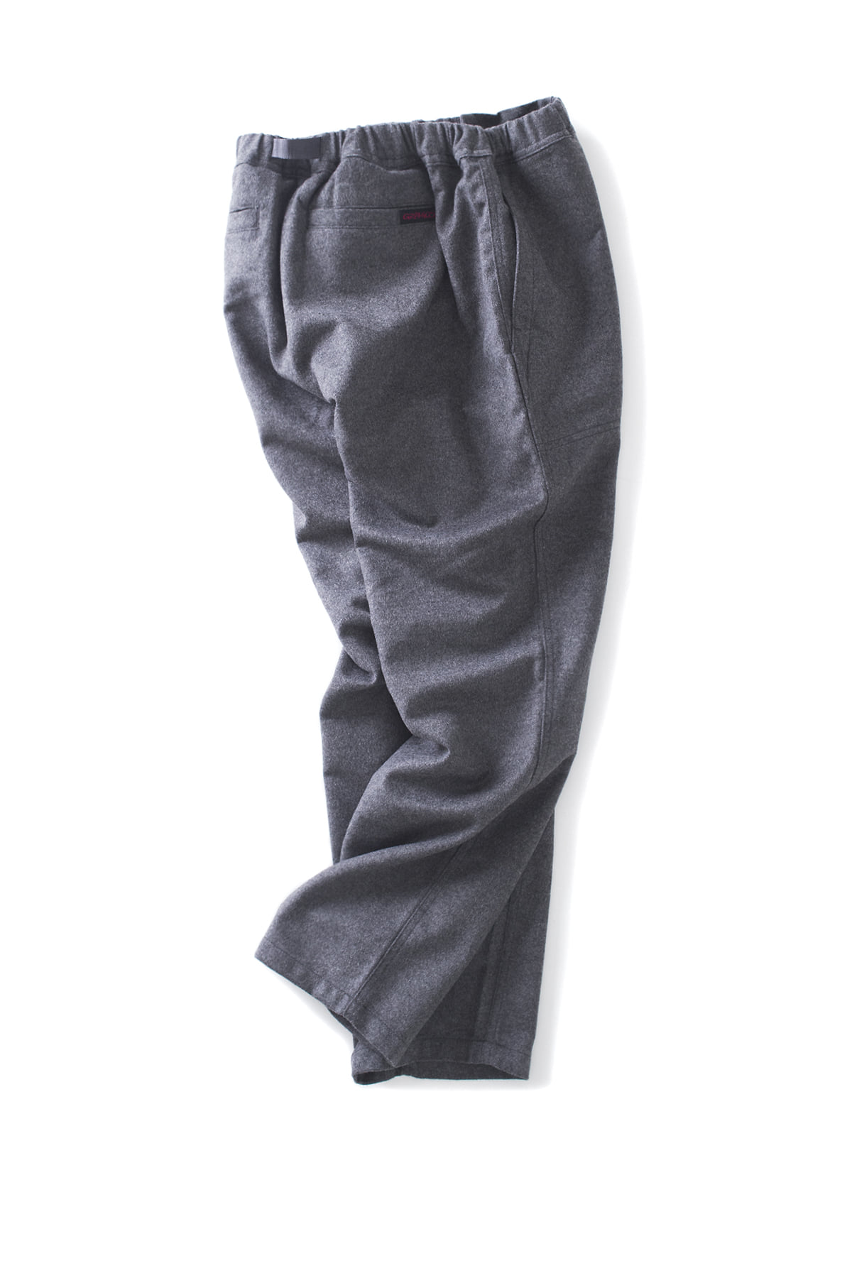 Gramicci : Wool Loose Tapered Pants (Heather Charcoal)