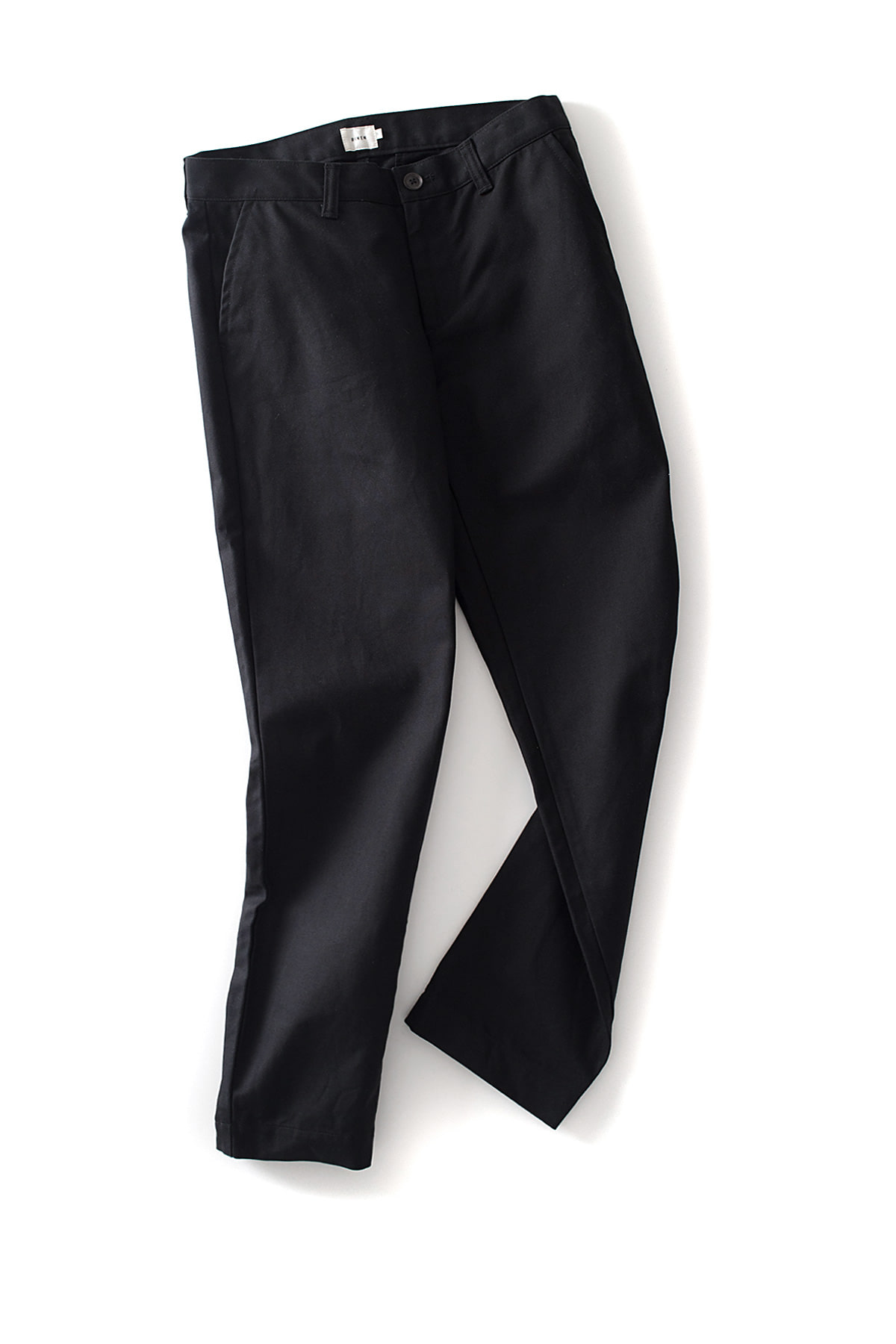 RINEN : Twill Pants (Black)