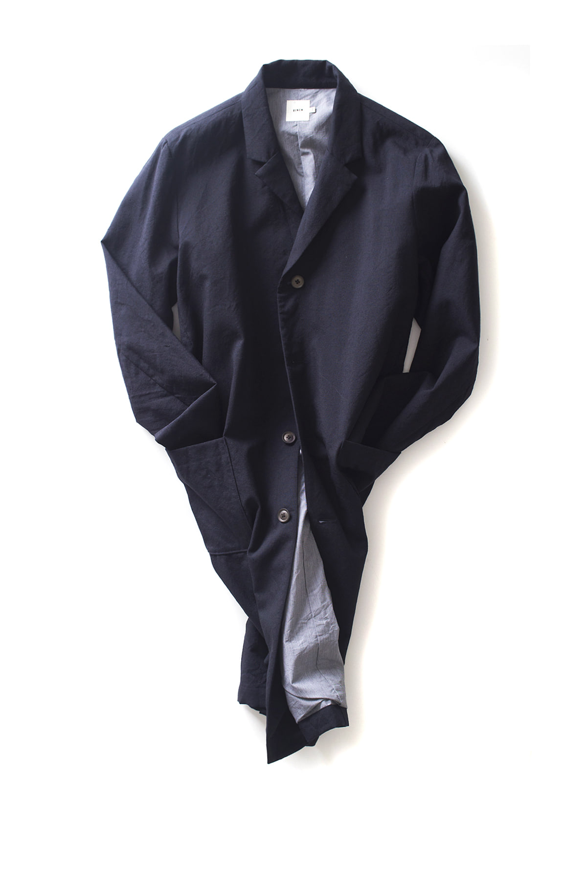 RINEN : Tailored Coat (Navy)