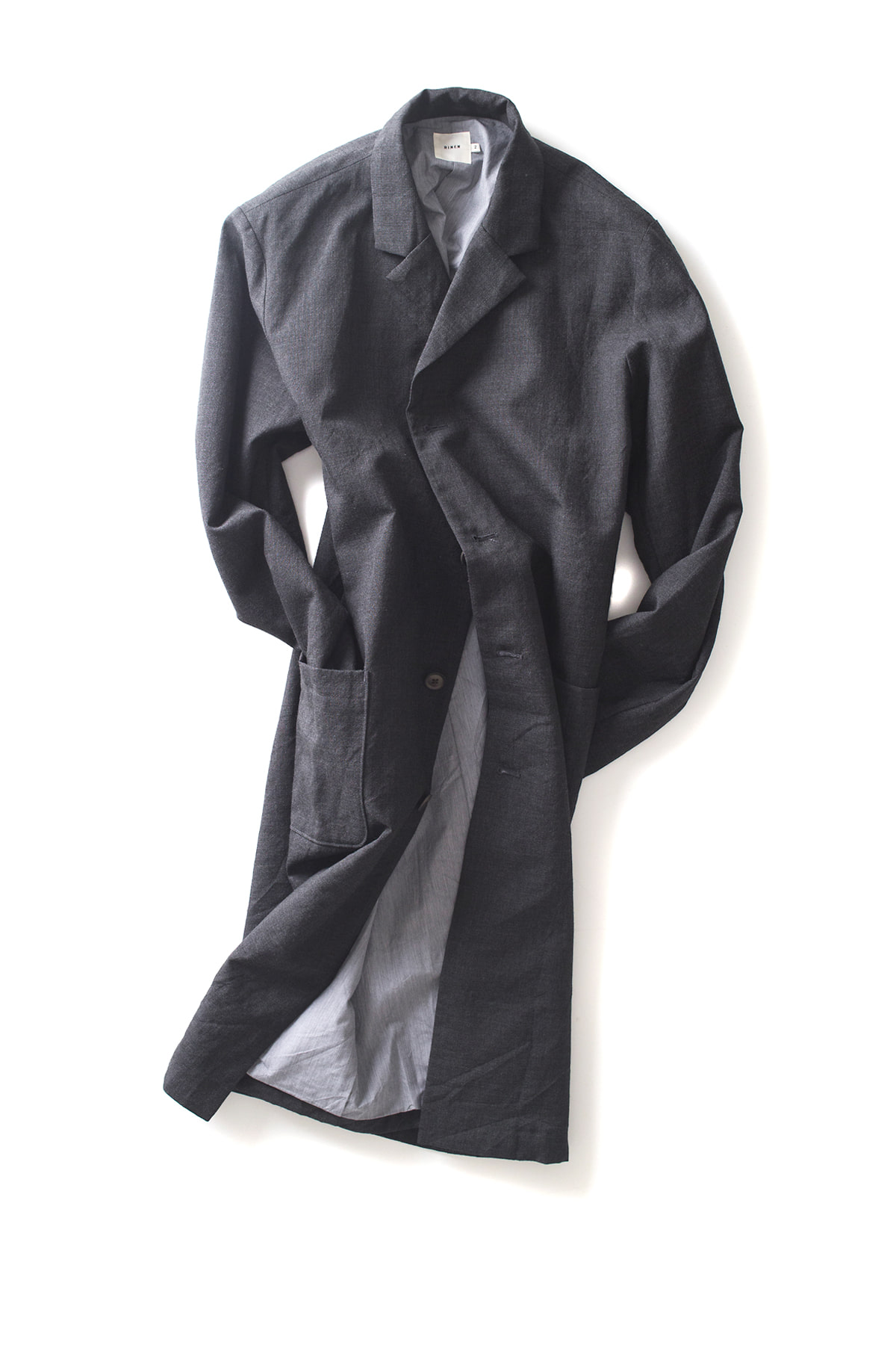 RINEN : Tailored Coat (Charcoal)