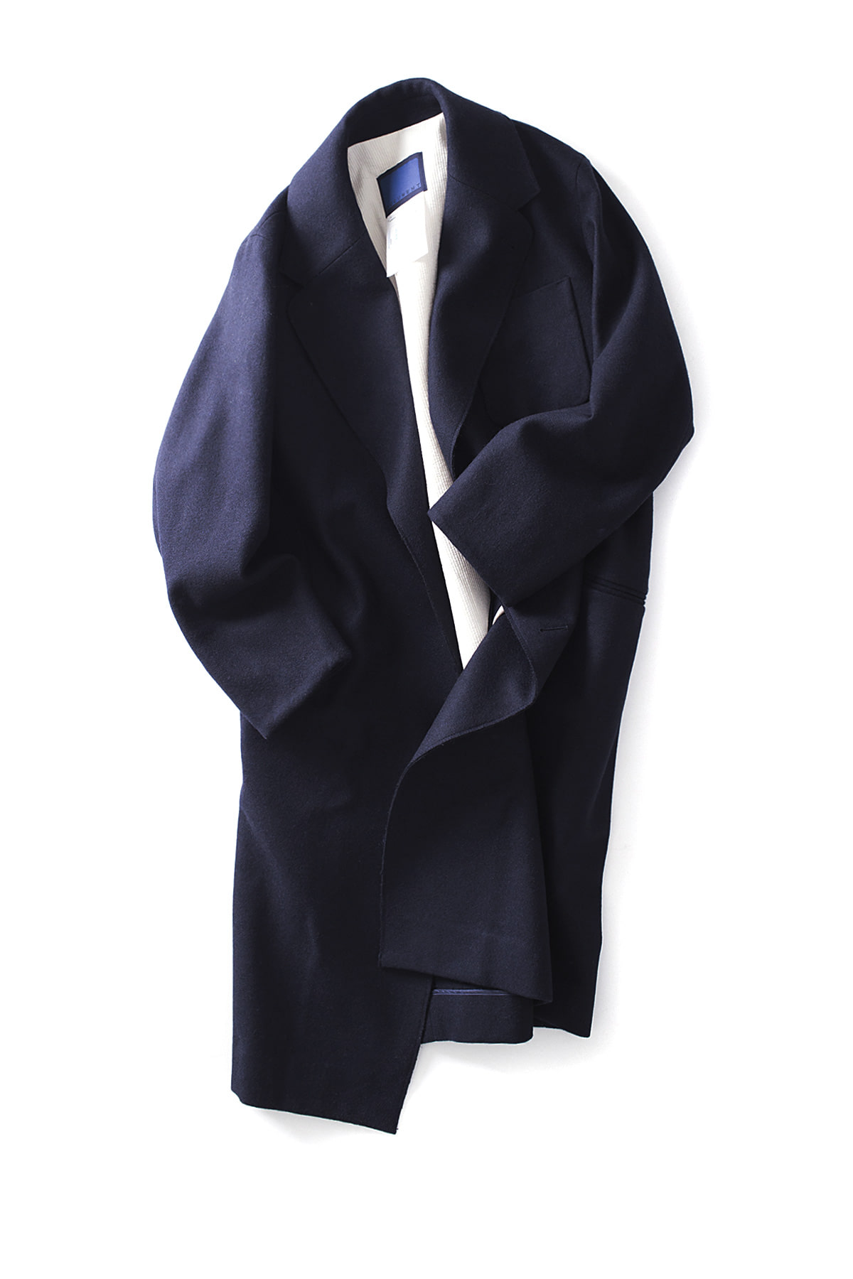 Document : Documentation Wool Menton Coat (Navy)