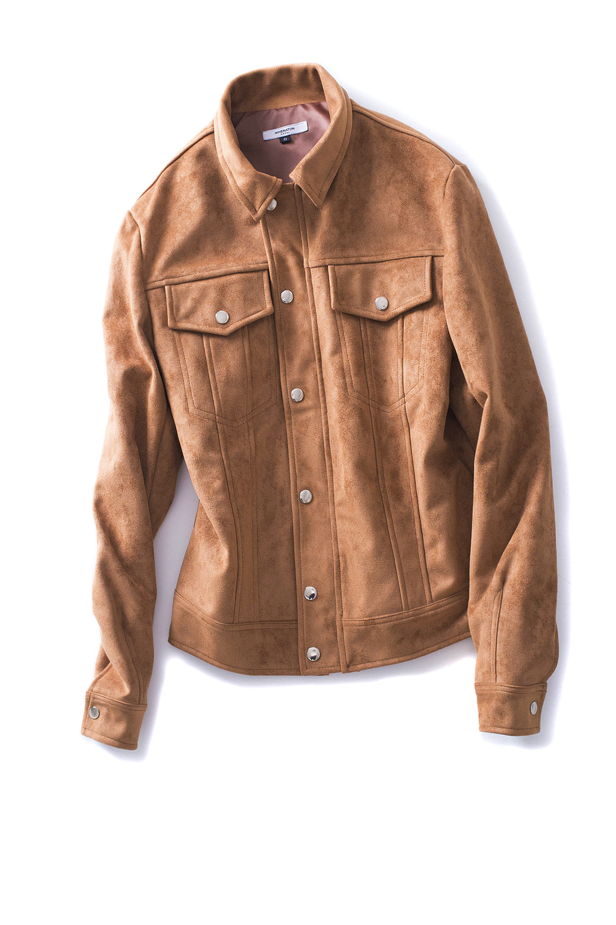 IKHENATON : Suede Jacket (Brown)