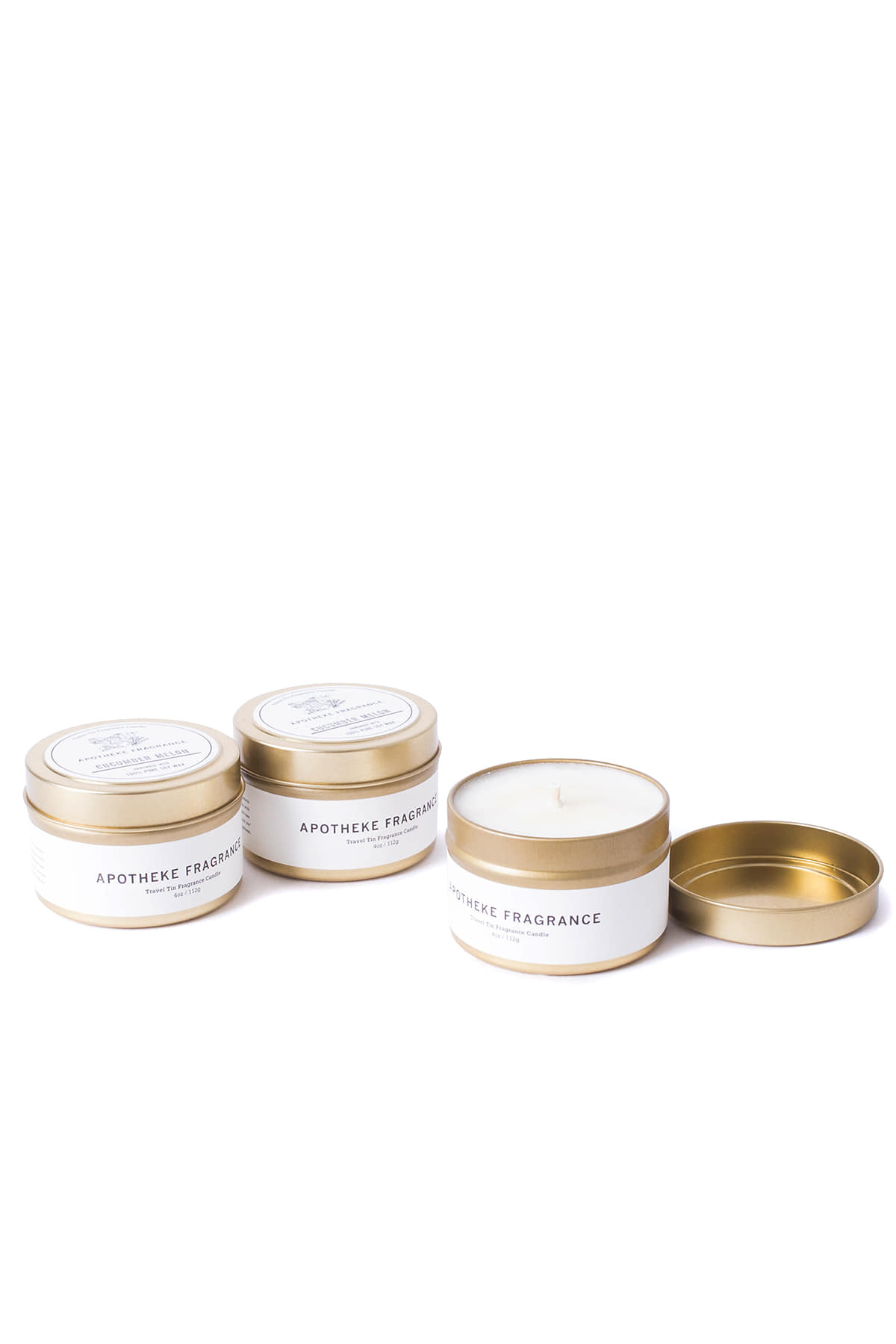 APOTHEKE FRAGRANCE : Tin Candle