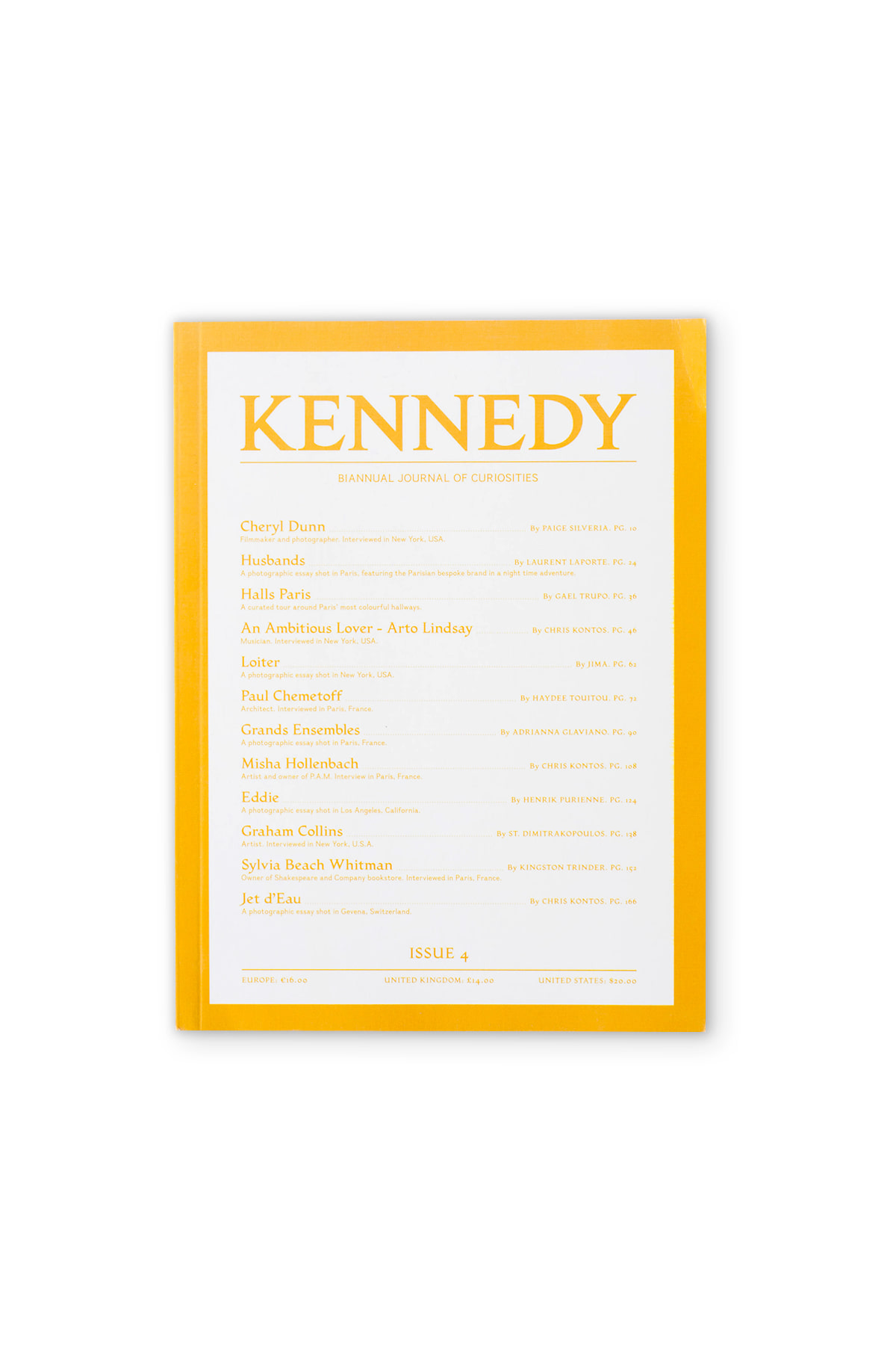 KENNEDY MAGAZINE : Issue. 04