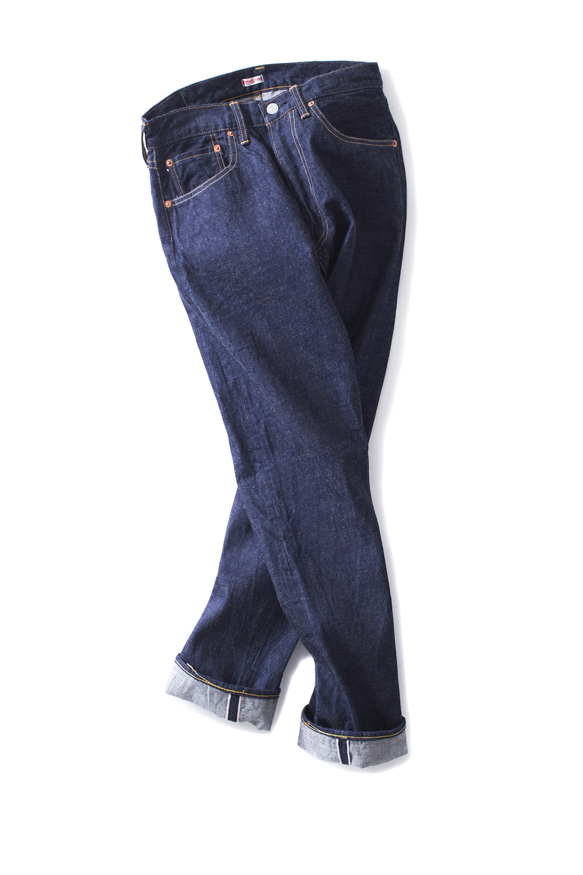 kaptain Sunshine : East Coast Fit denim pants (Indigo)