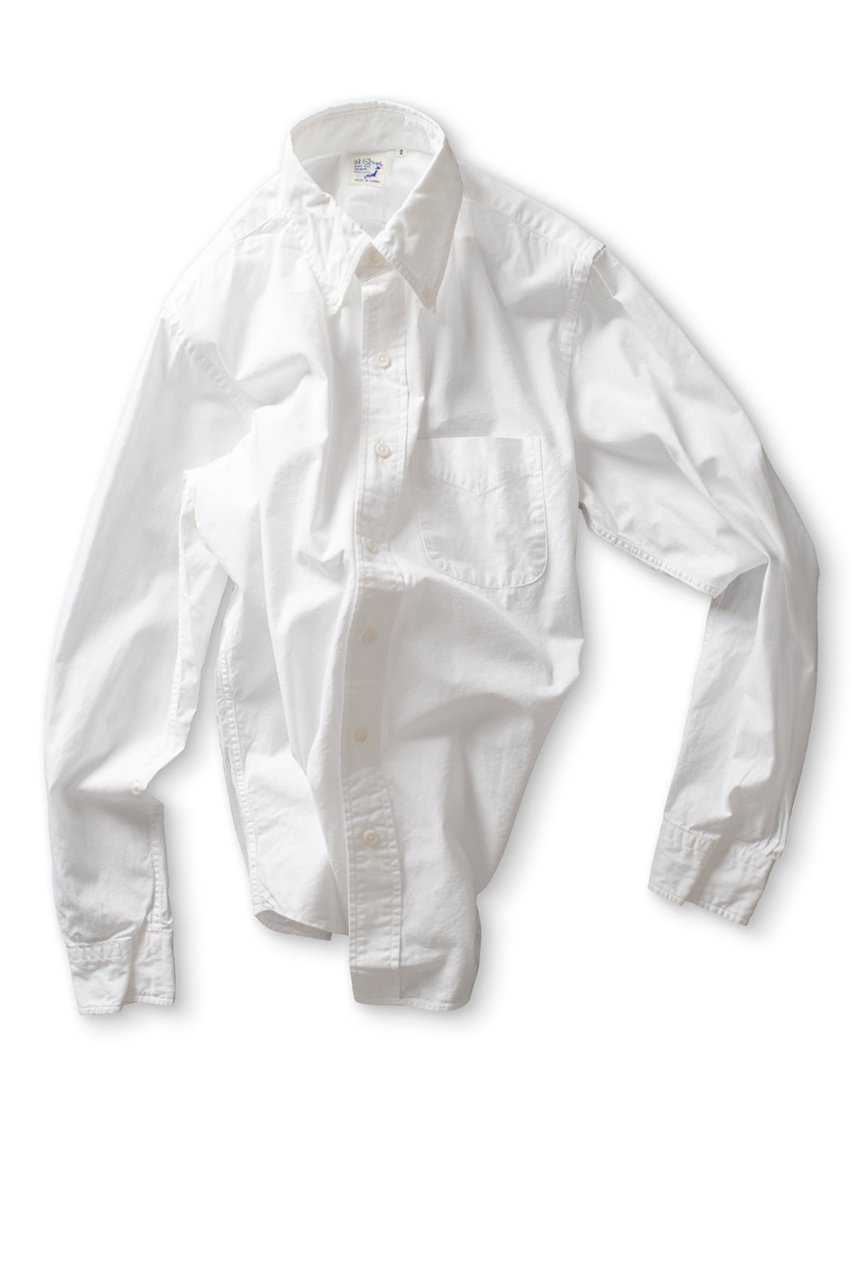 orSlow : Button Down Shirt (69 White)