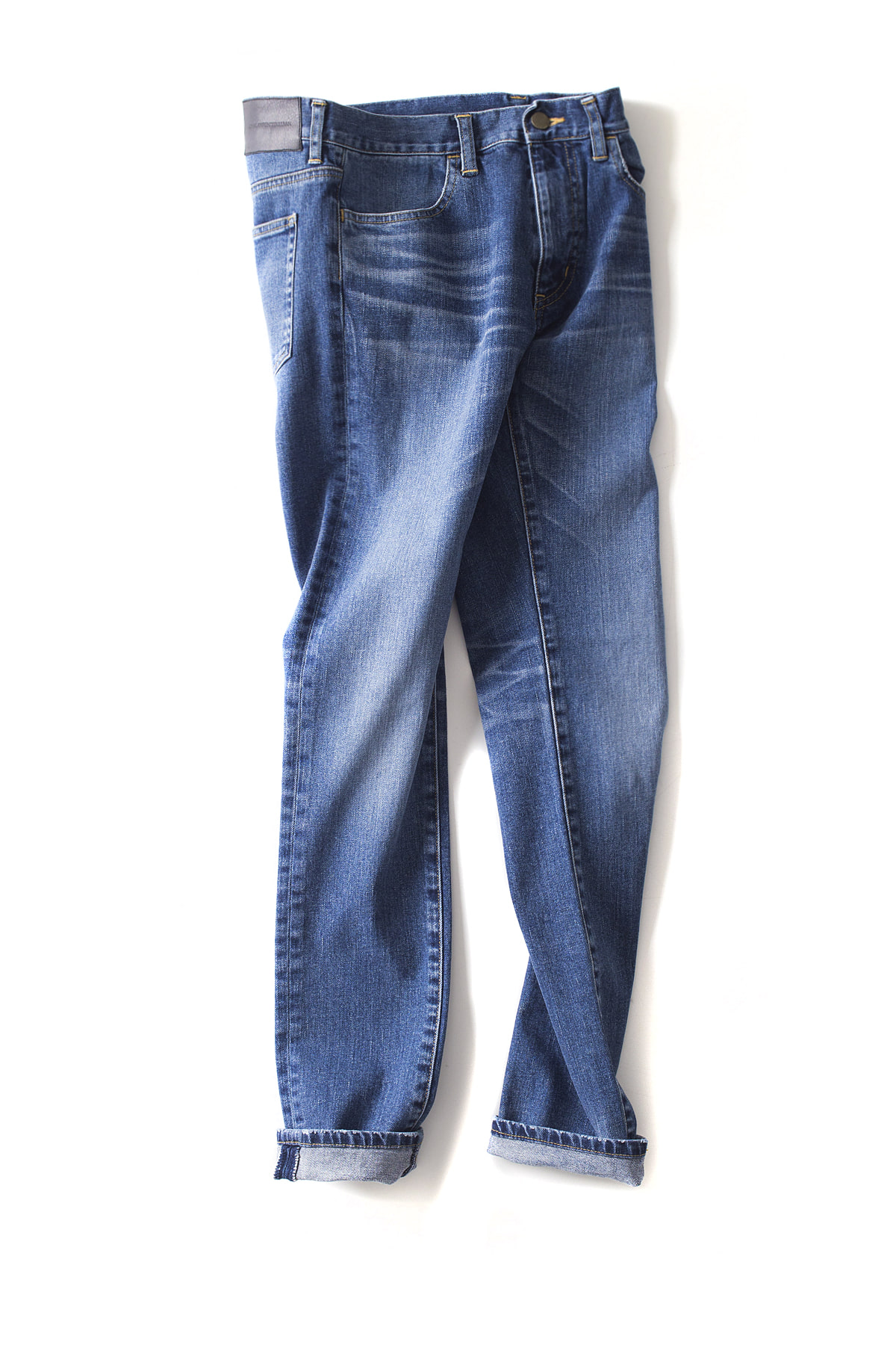 JOHN LAWRENCE SULLIVAN : Tapered Jeans (Washed)