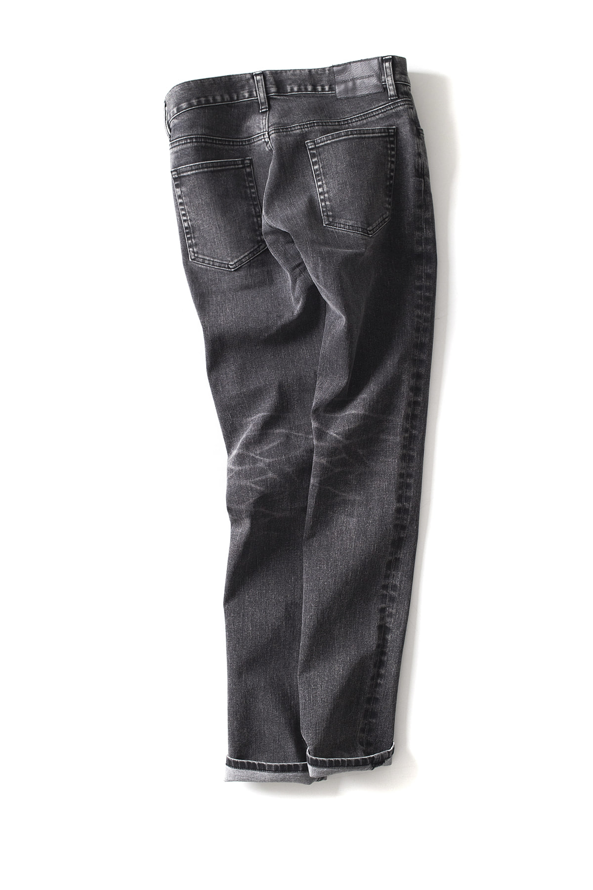 JOHN LAWRENCE SULLIVAN : Tapared Jeans (Black)