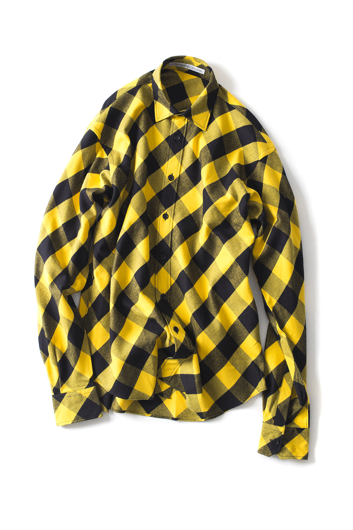 JOHN LAWRENCE SULLIVAN : Plaid Shirt (Yellow)