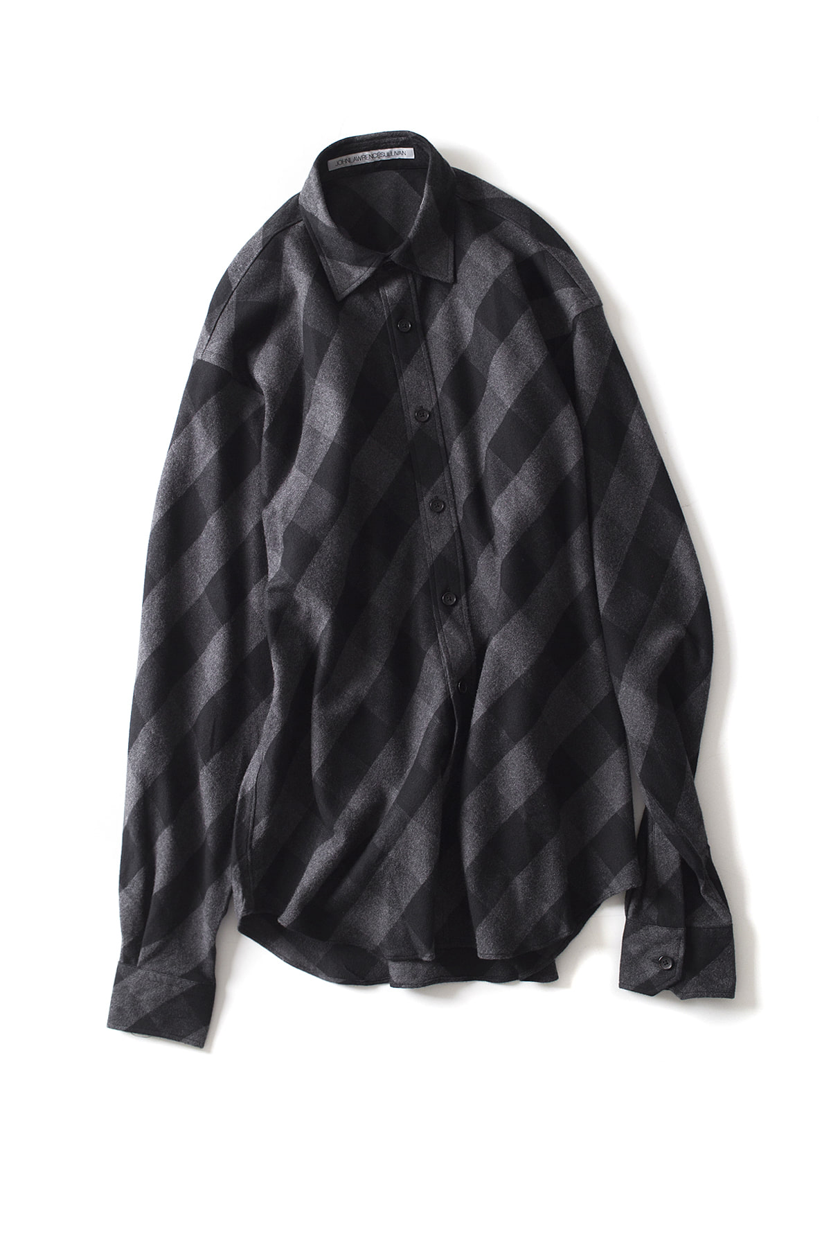 JOHN LAWRENCE SULLIVAN : Plaid Shirt (Black)