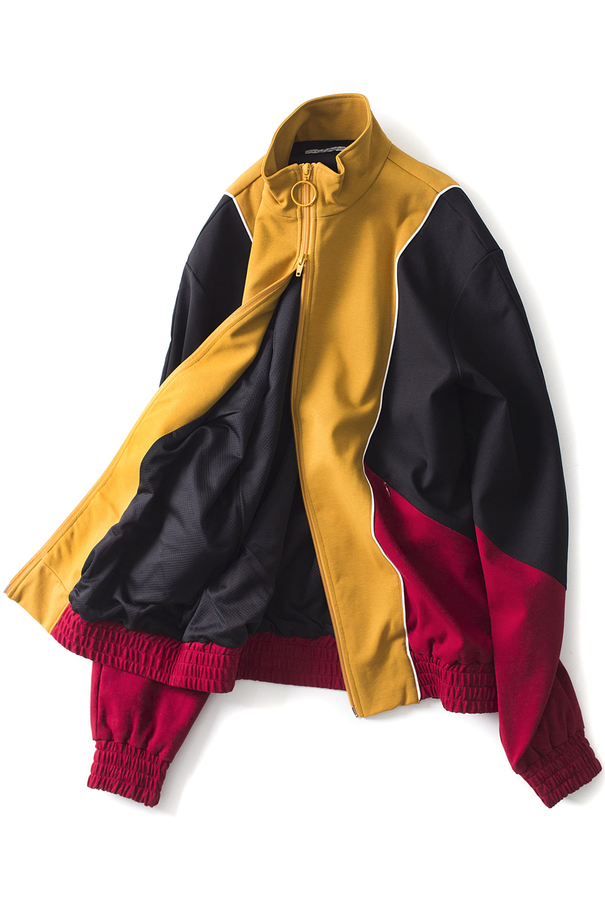 JOHN LAWRENCE SULLIVAN : Colorblock Zip Jacket (Mix2)
