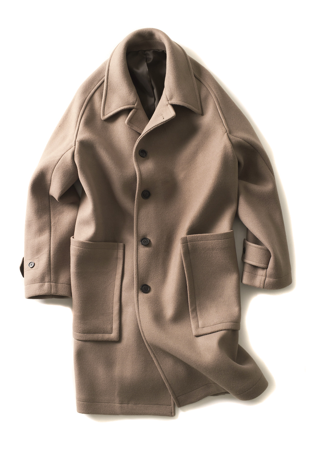BIRTHDAYSUIT : Leck Coat (Cocoa)