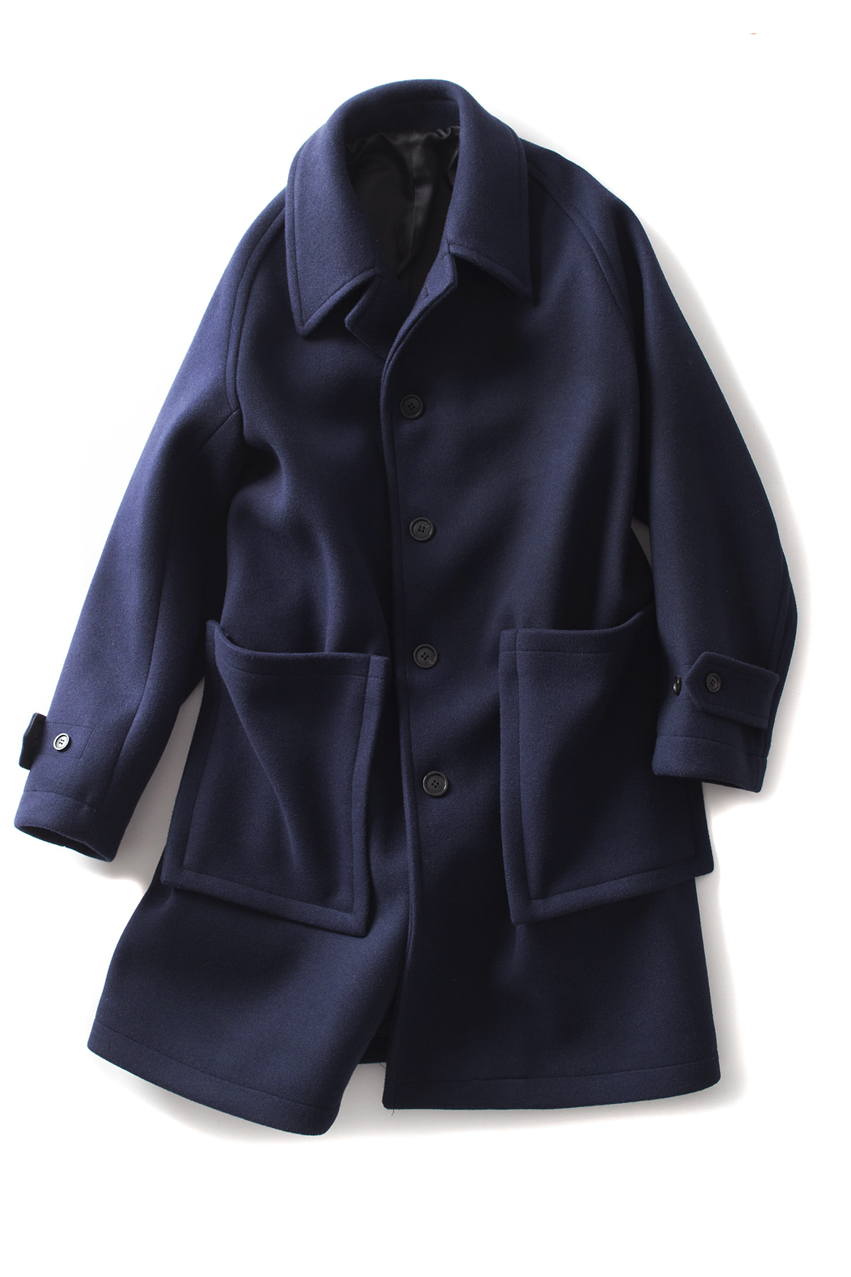 BIRTHDAYSUIT : Leck Coat (Navy)