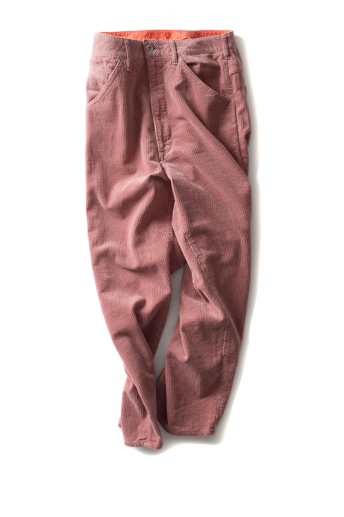 bukht : Big Corduroy Pants (Pink)