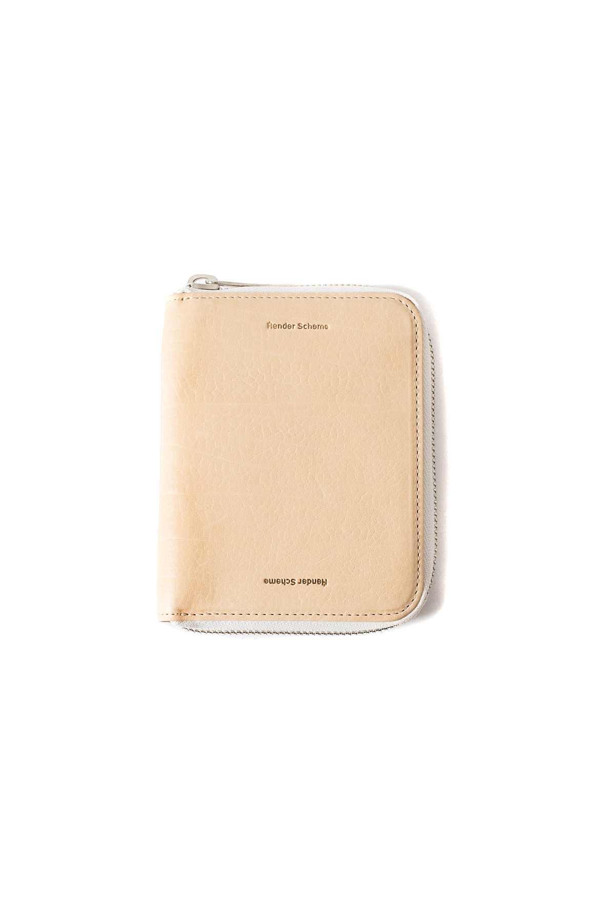 Hender Scheme : Square Zip Purse (Natural)