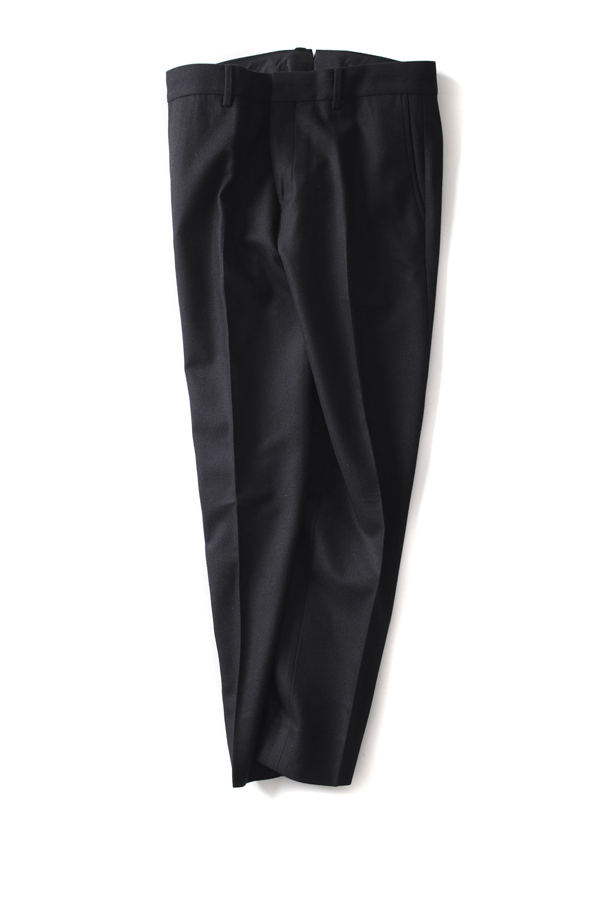 "Bedwin & The Heartbreakers : 10/L Tapered Cordura Wool Pants ""CHARLS"" (Black)"