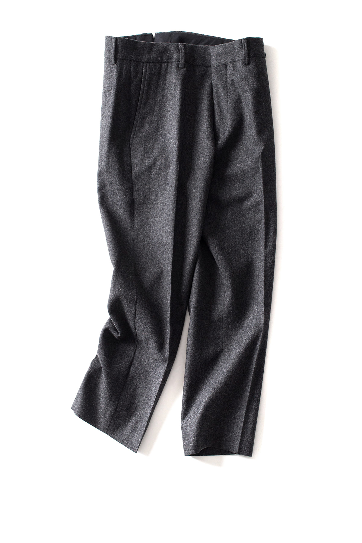 "Bedwin & The Heartbreakers : 9/L Cordura Wool Pants ""JESSEE"" (Charcoal)"