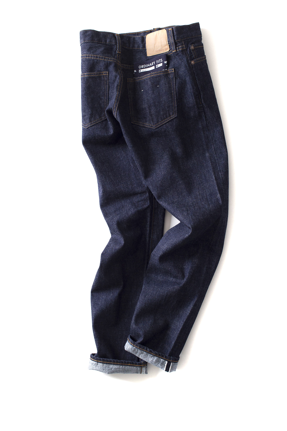 ordinary fits : New Roll Up 5P Denim One Wash (Indigo)