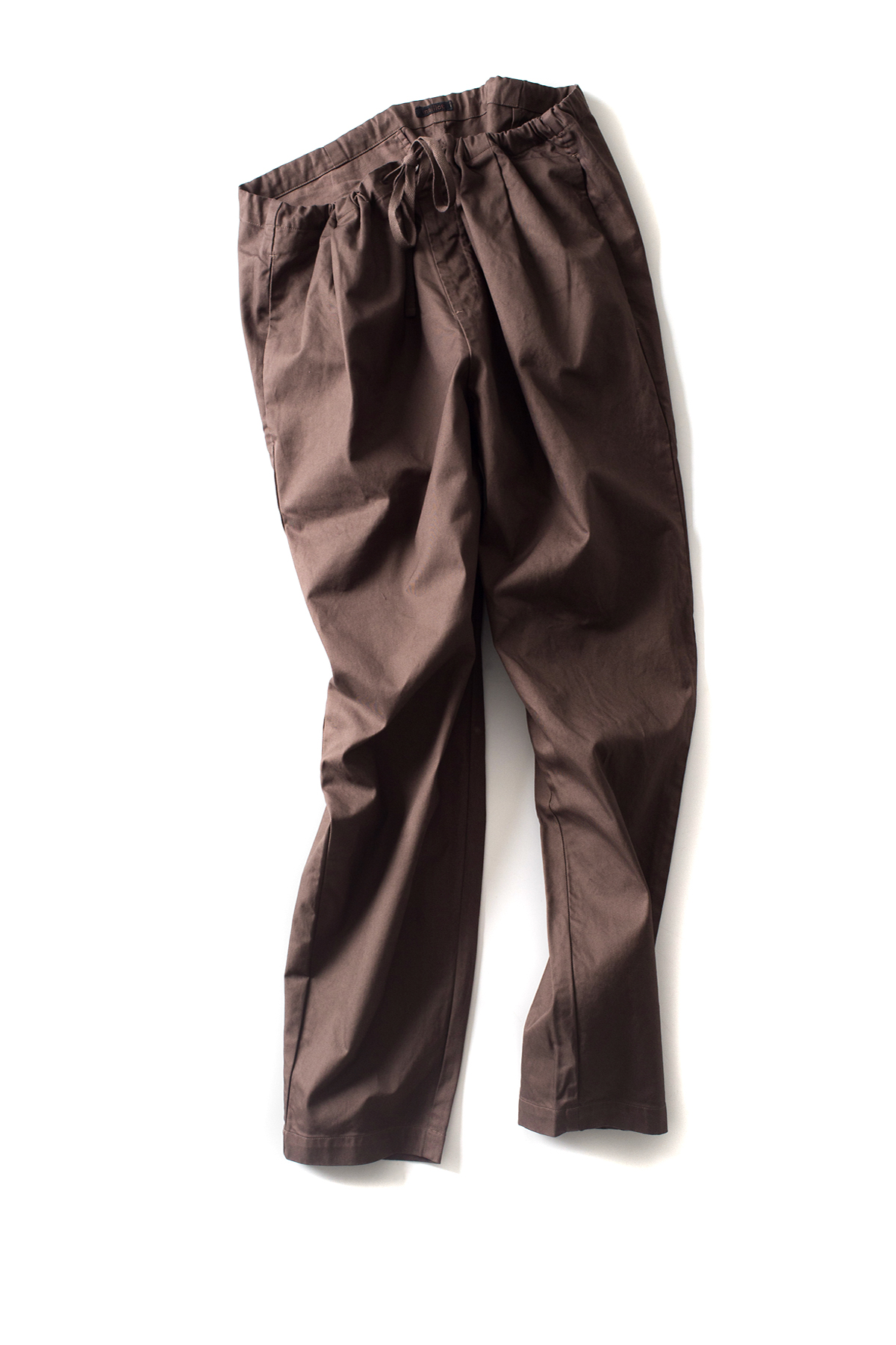 maillot : Drawstring Pants (Brown)