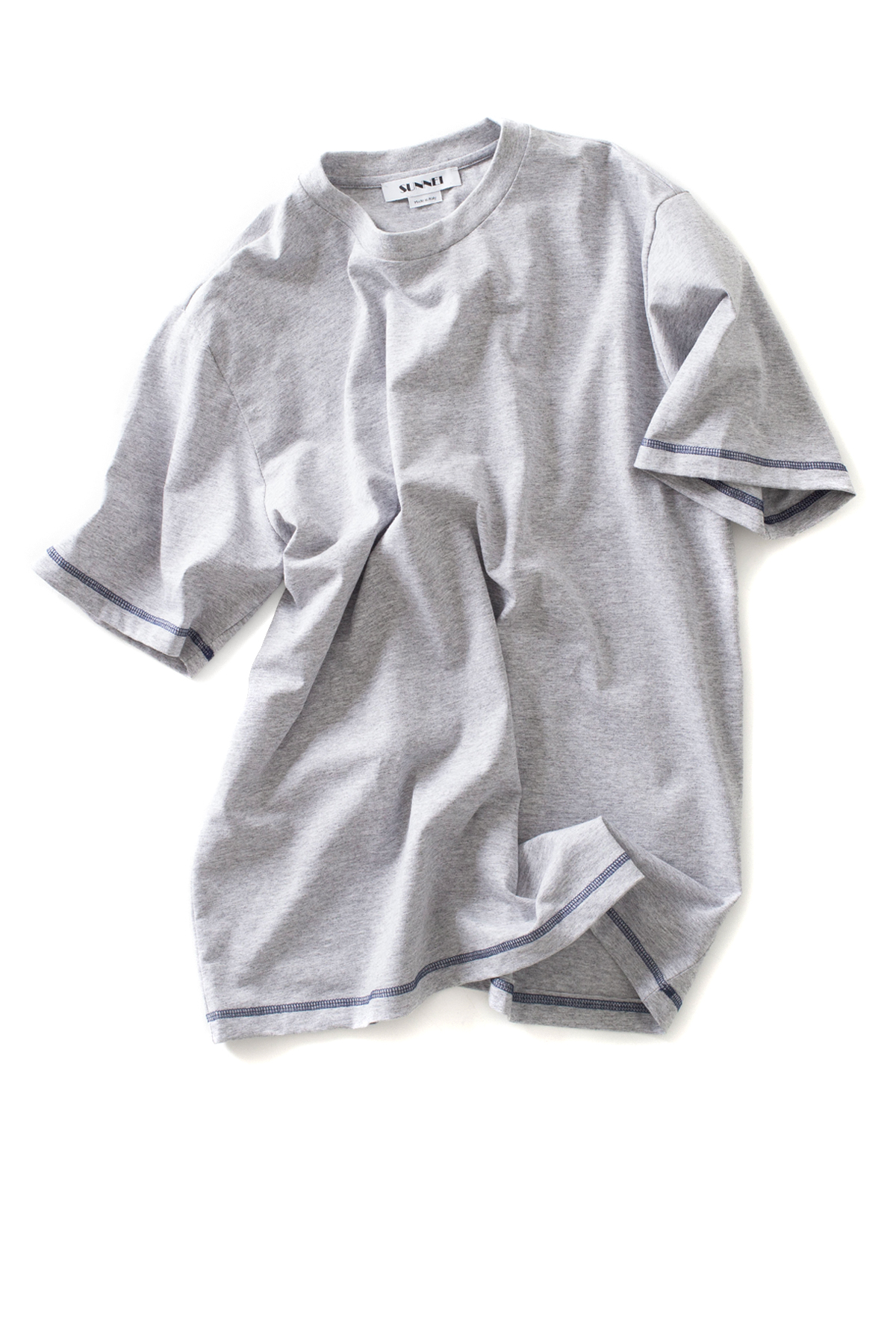SUNNEI : Basic T-Shirt (Grey)