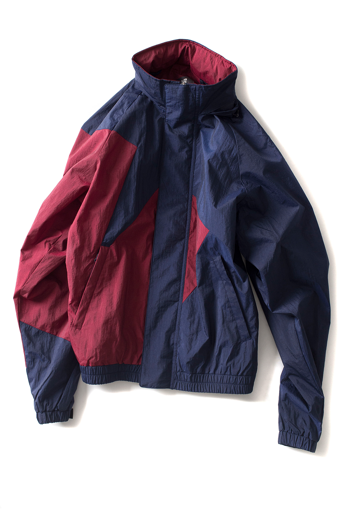 New Balance : UNI Classic Woven Warm Up Jacket (Navy)