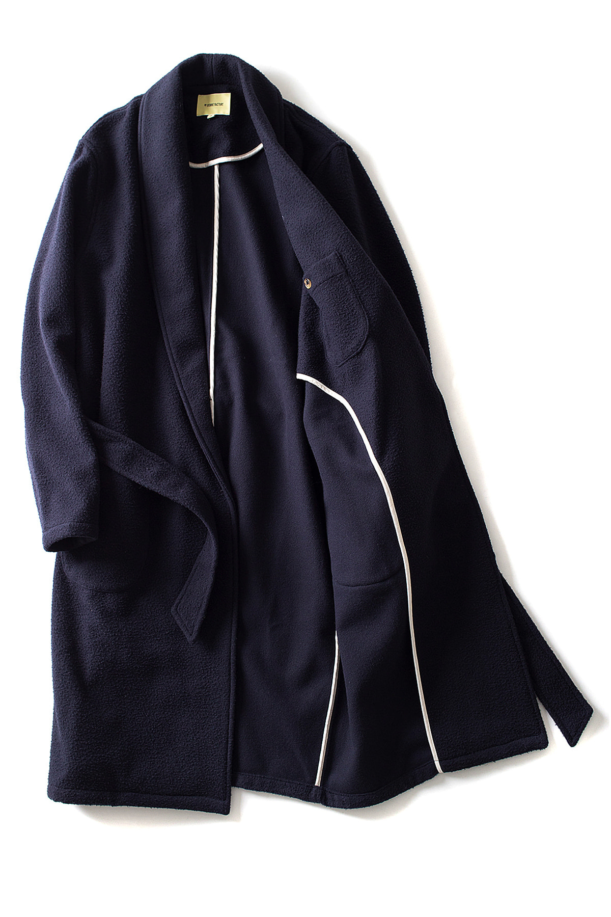 de bonne facture : Bathrobe Coat(Navy)