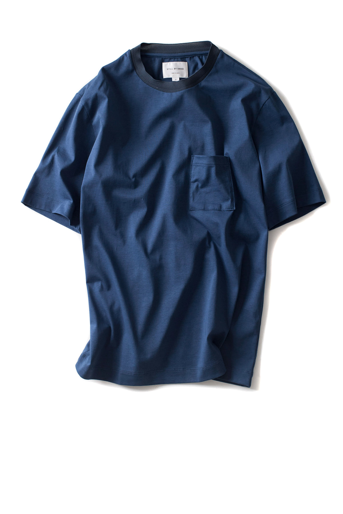 Still by Hand : Ringer T-Shirt (Blue)