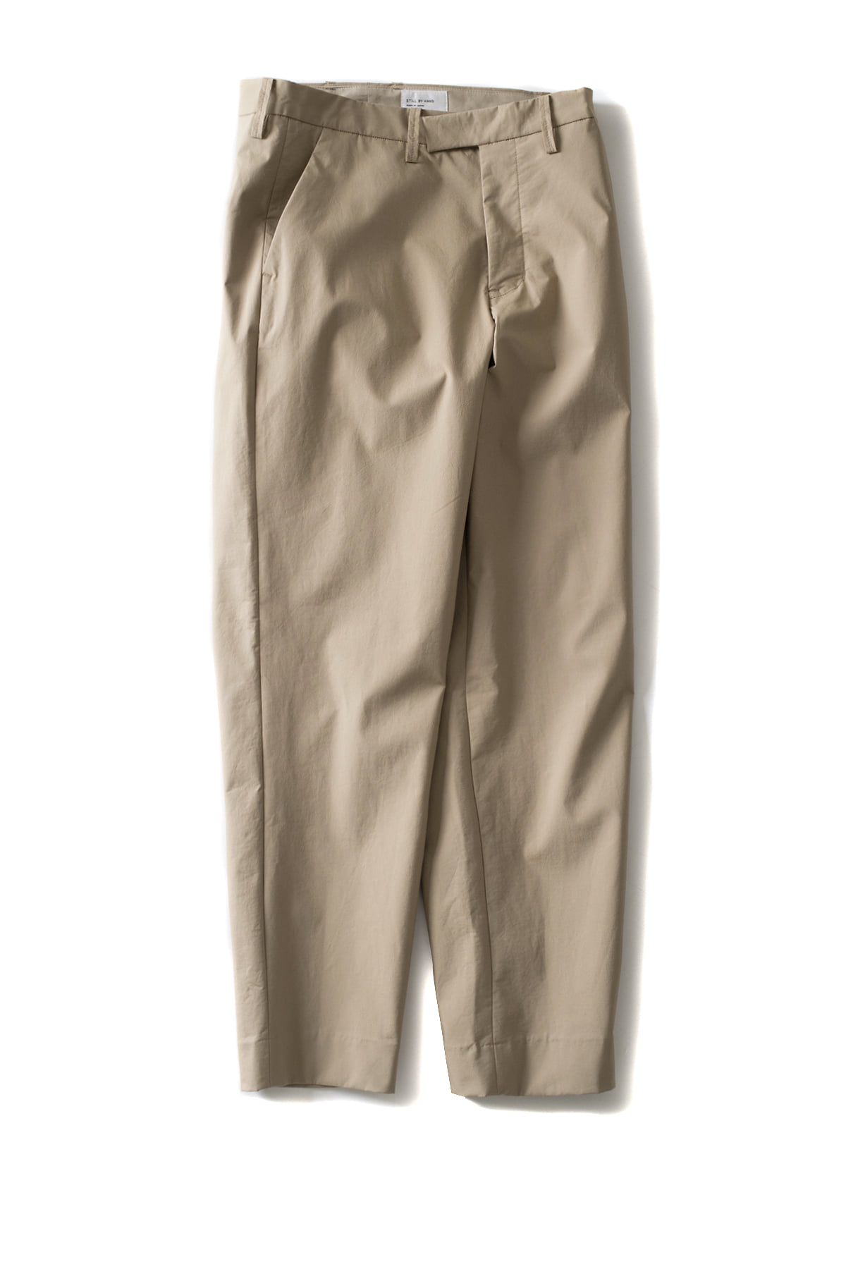 Still by Hand : Bonded Pants (Beige)