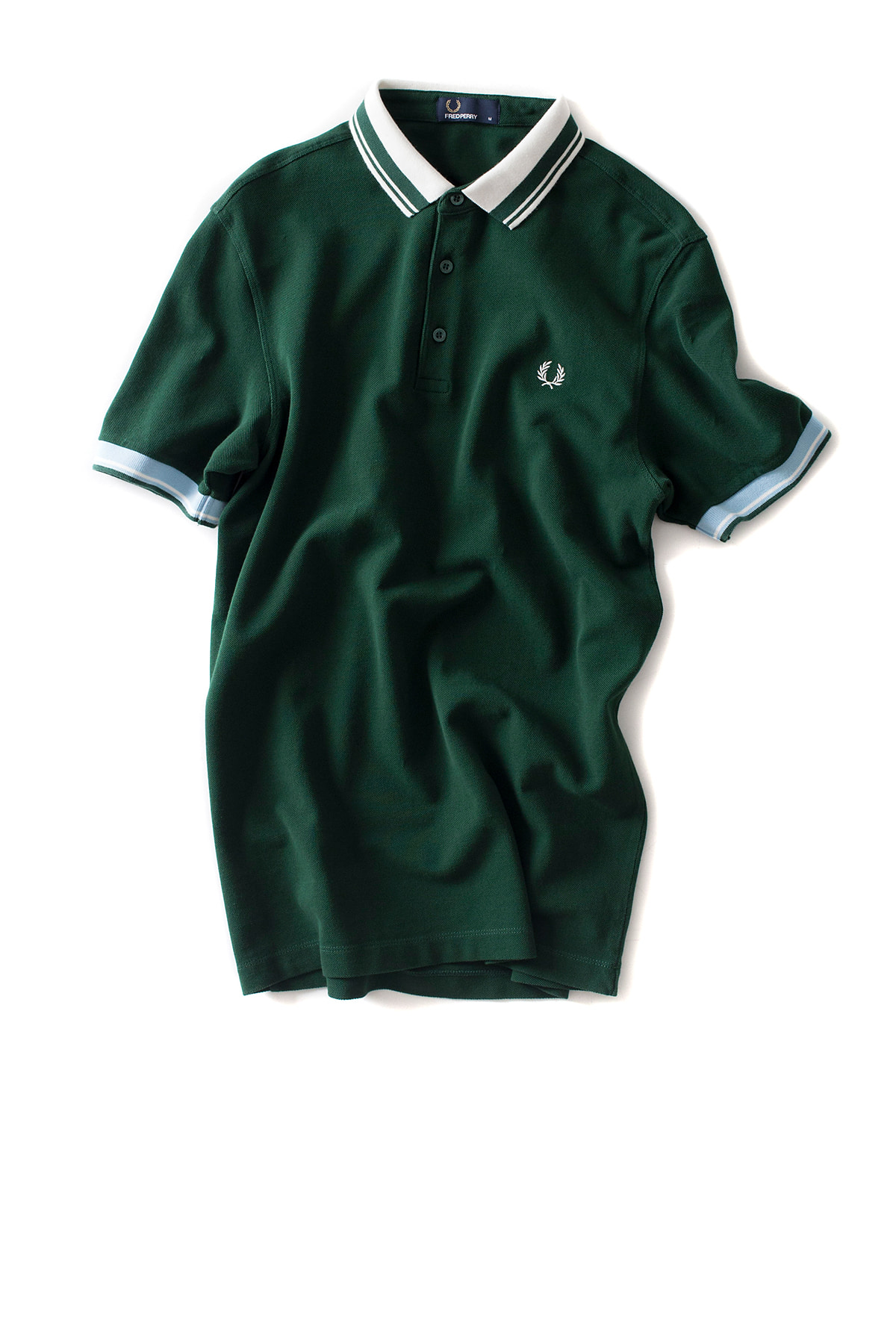 FRED PERRY : Contrast Collar Pique Shirt (IVY)