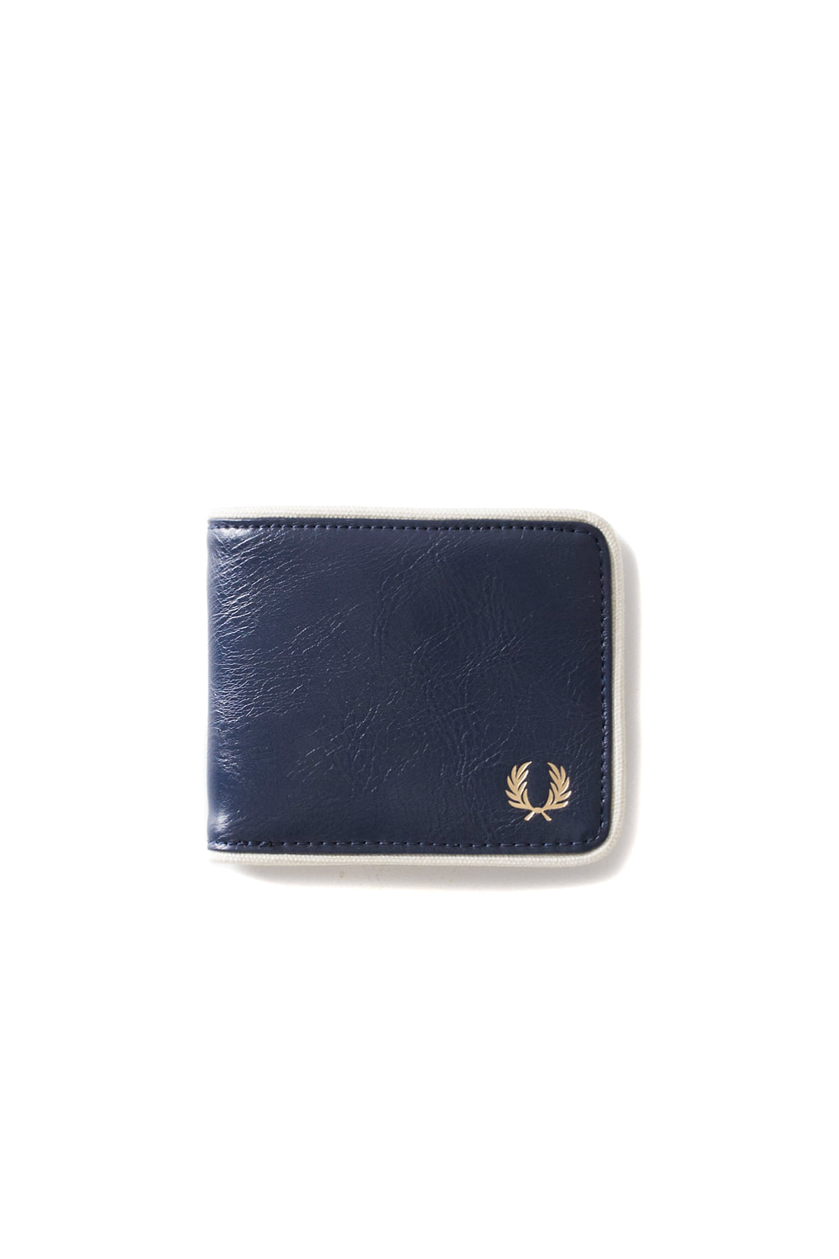FRED PERRY : Classic Billfold Wallet (Navy / Ecru)