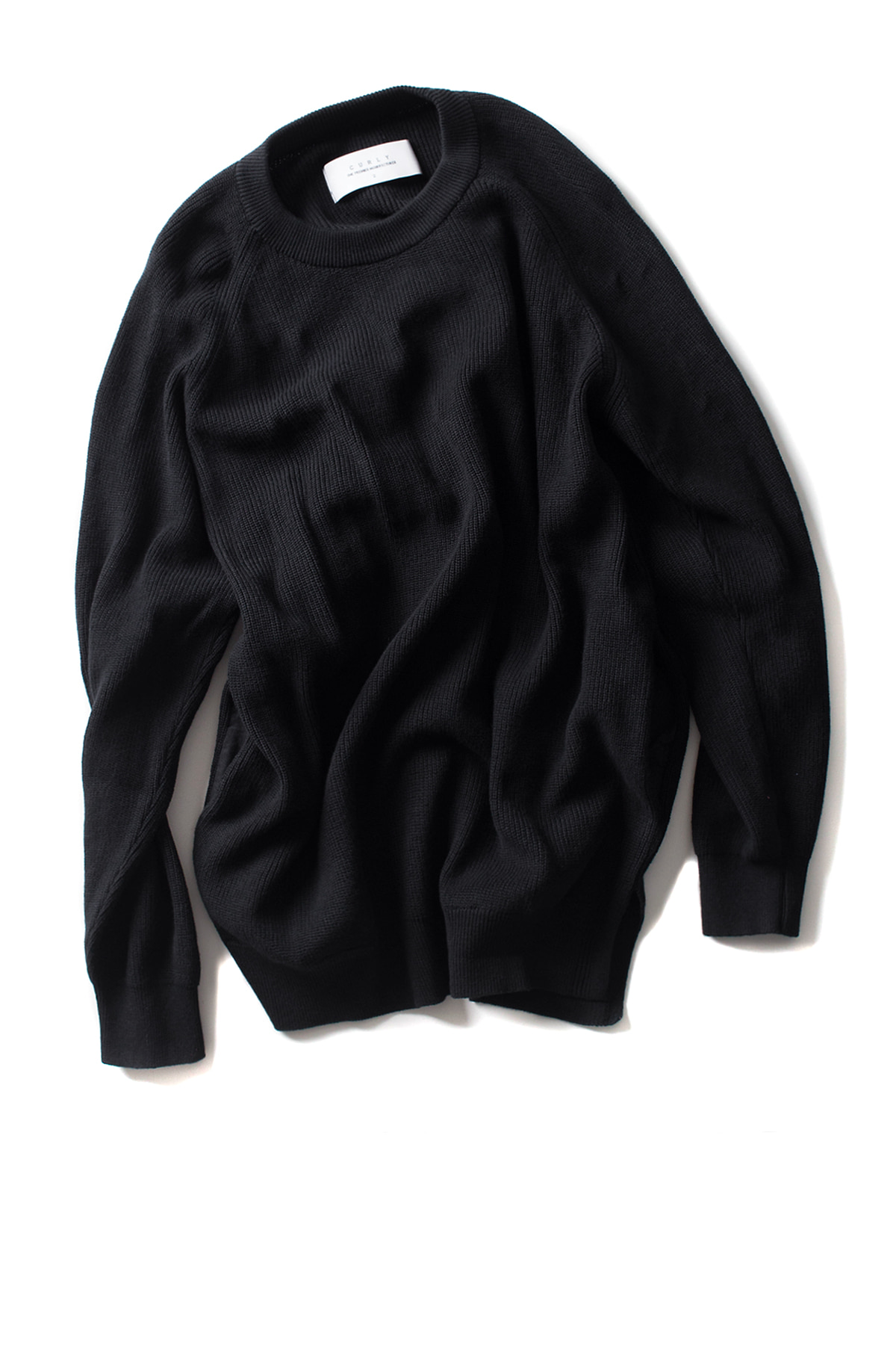 Curly : Assembly Crew Knit (Black)