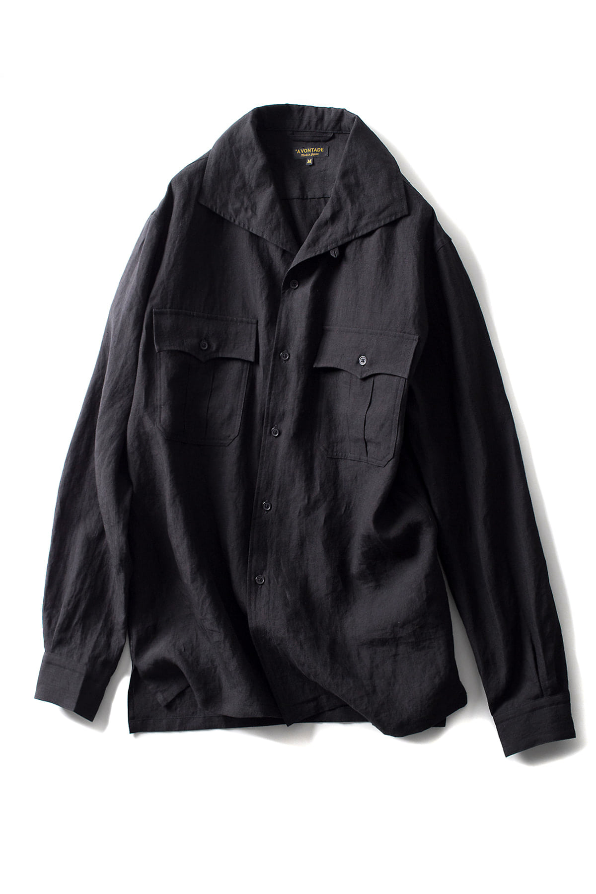 A vontade : Safari Shirts L/S (Black)