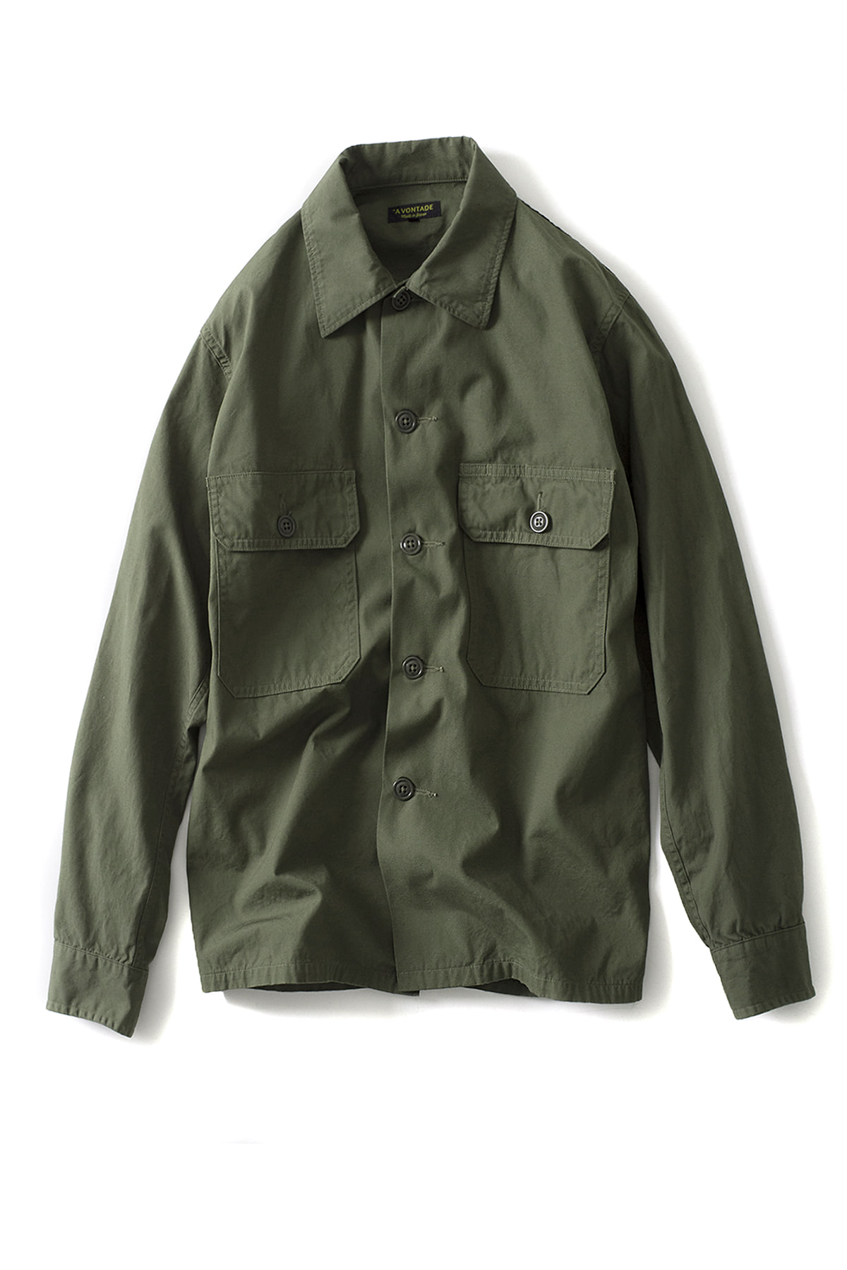 A vontade : Utility Shirts (Olive)